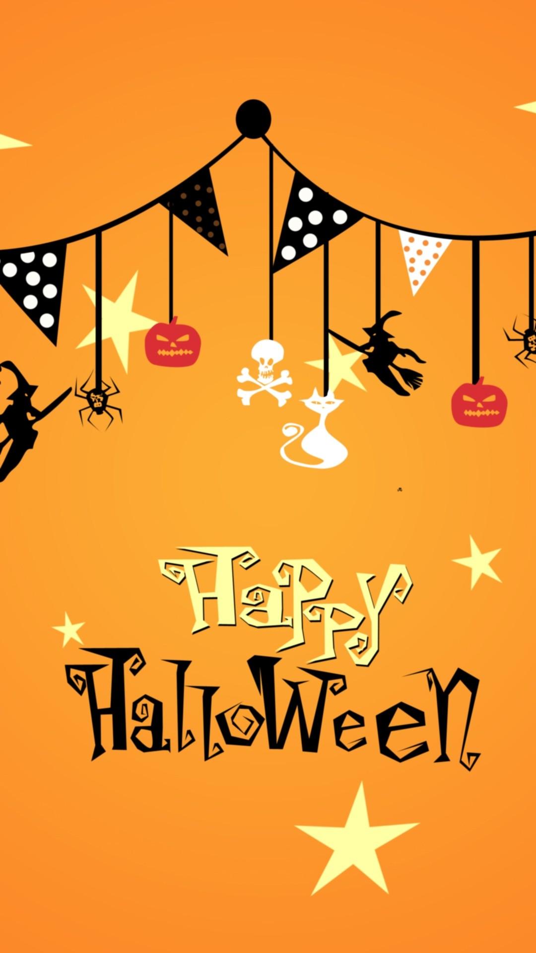 Cute Halloween iPhone 6 wallpaper