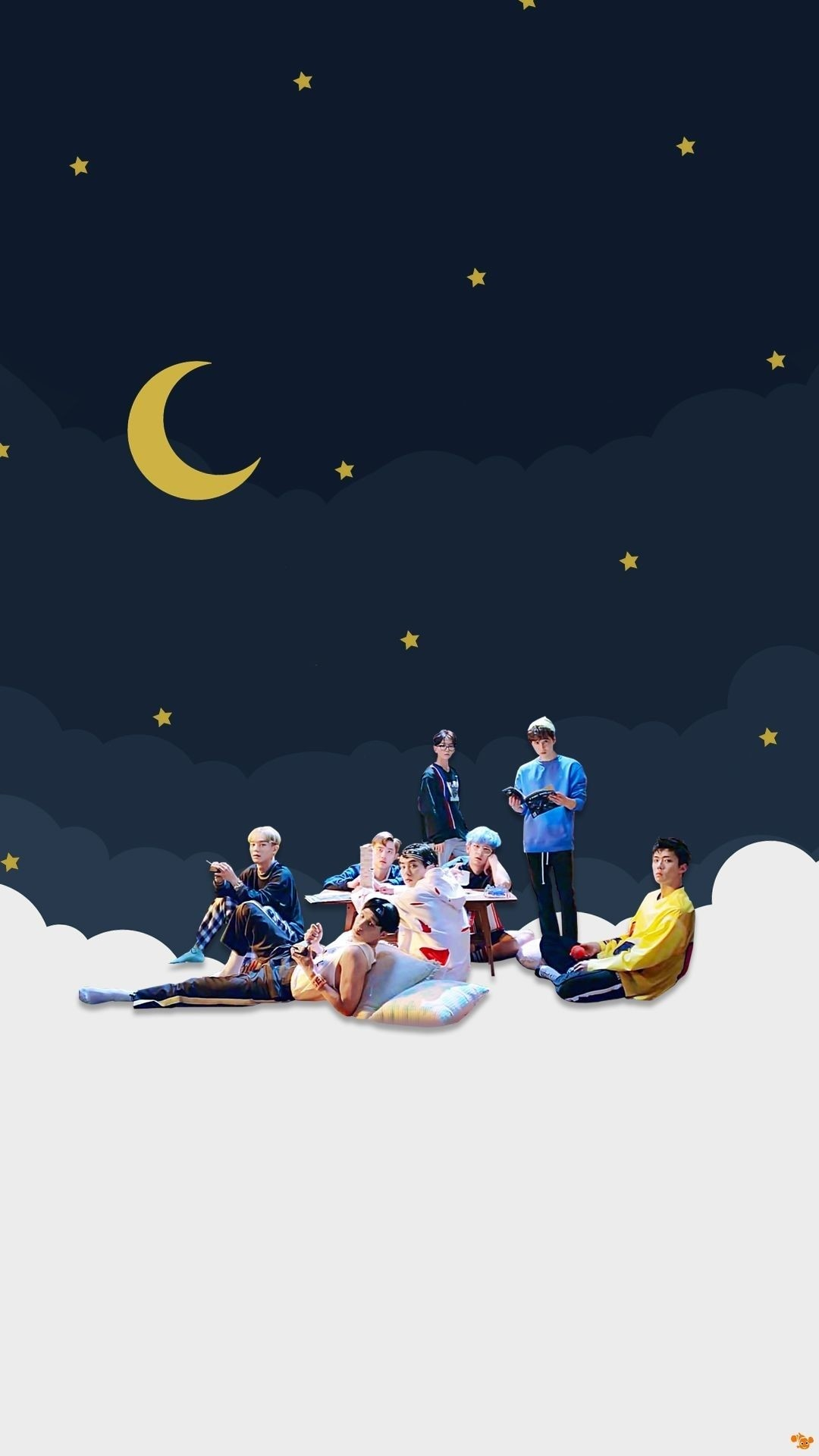 Exo wallpaper for iPhone