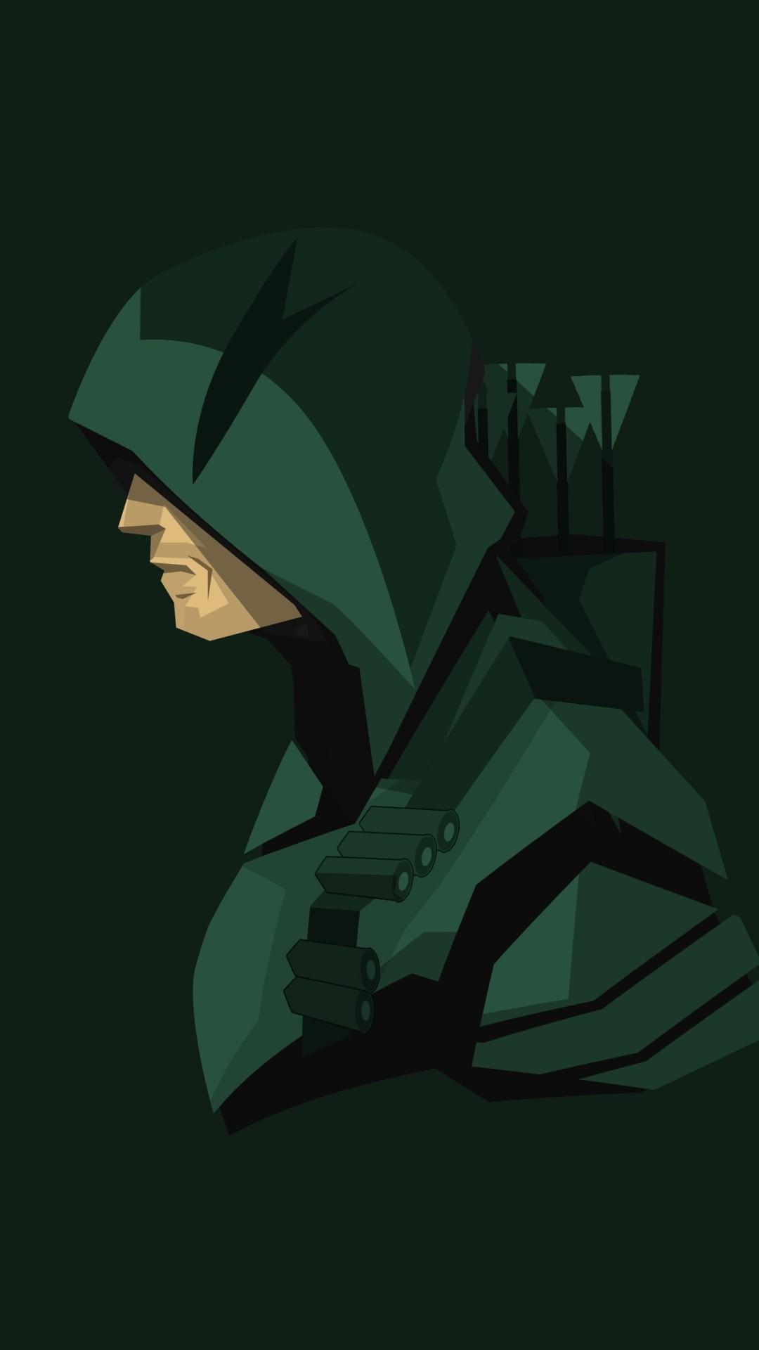 Green Arrow iPhone 5 wallpaper