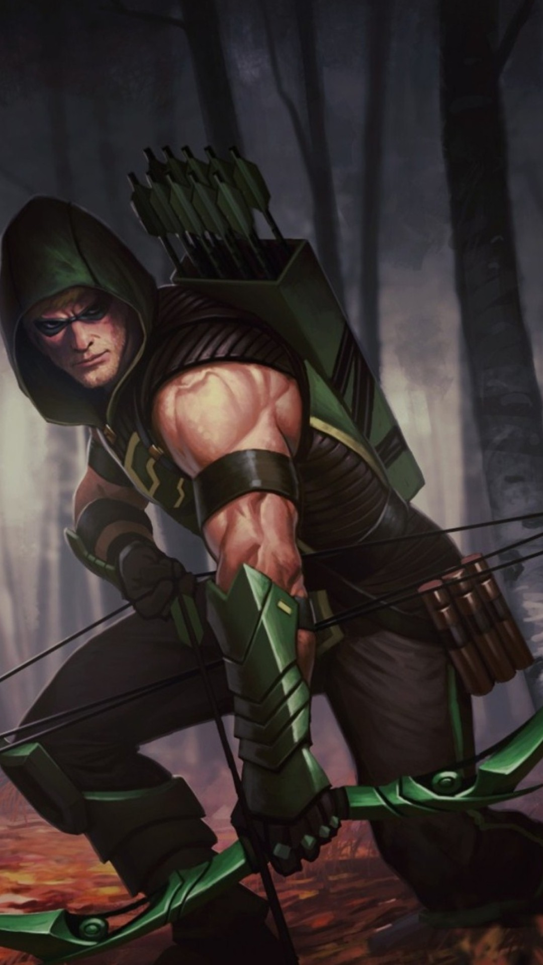 Green Arrow wallpaper for iPhone