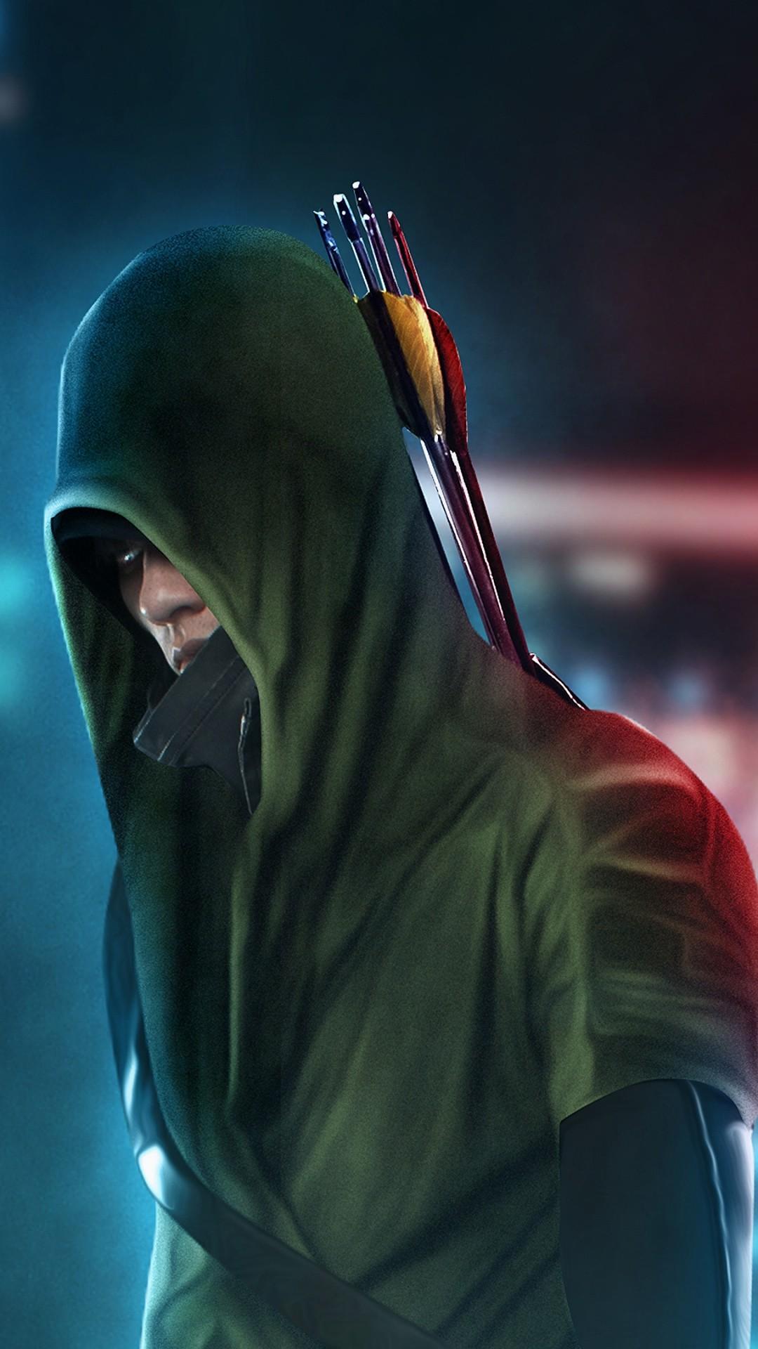 Green Arrow phone background