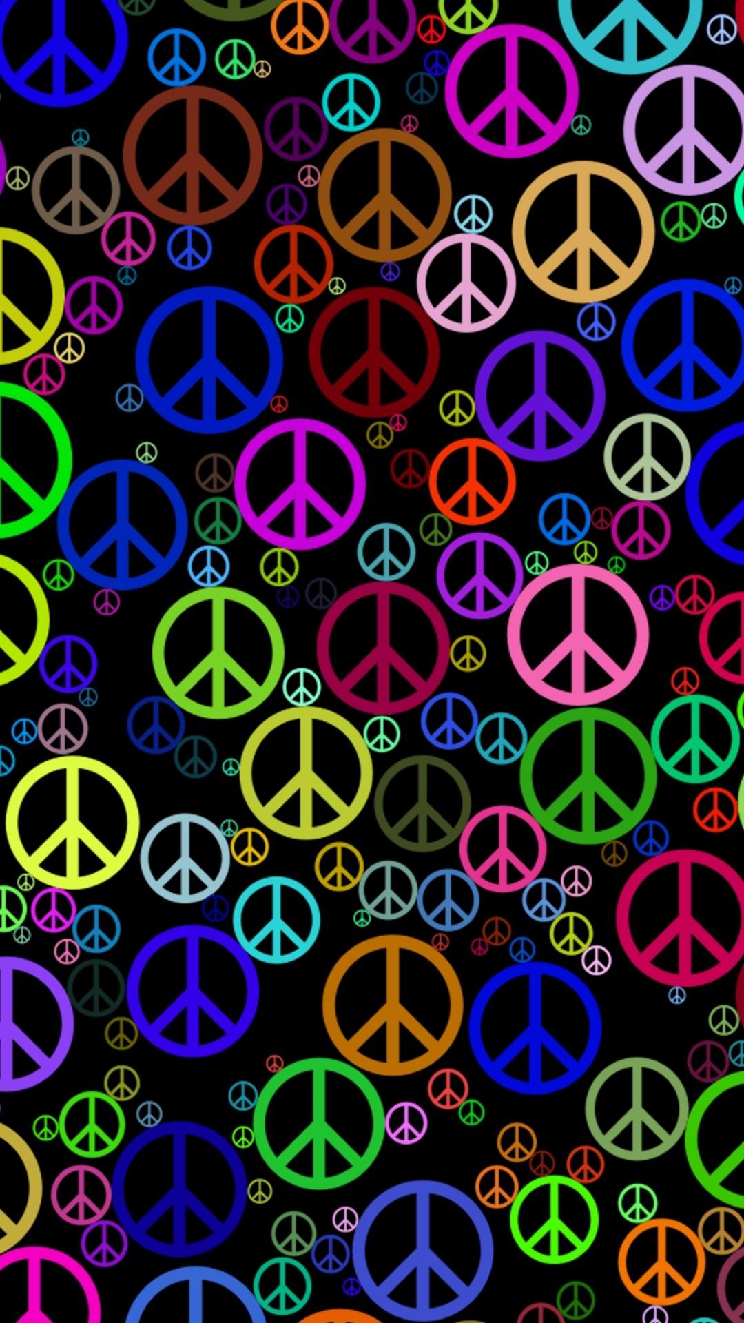 Hippie phone background