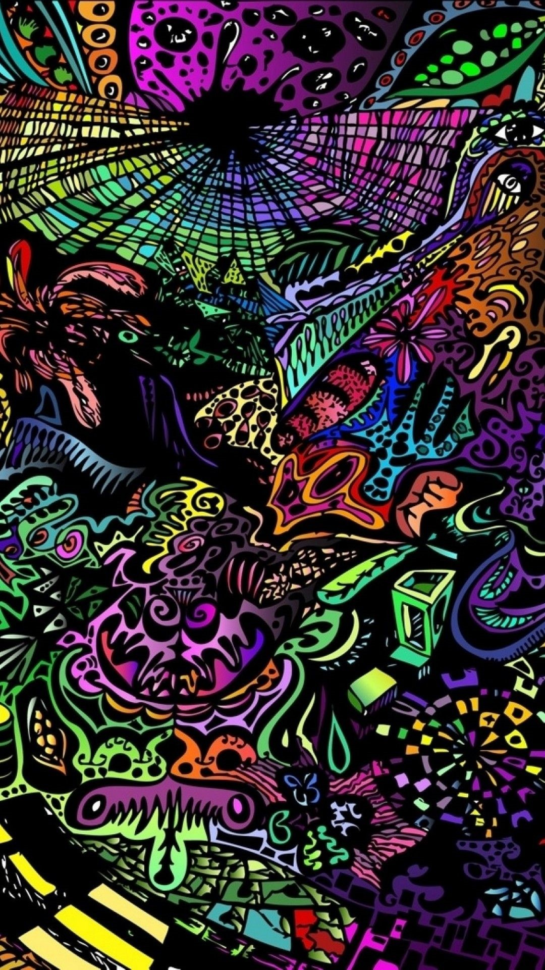 Hippie phone wallpaper