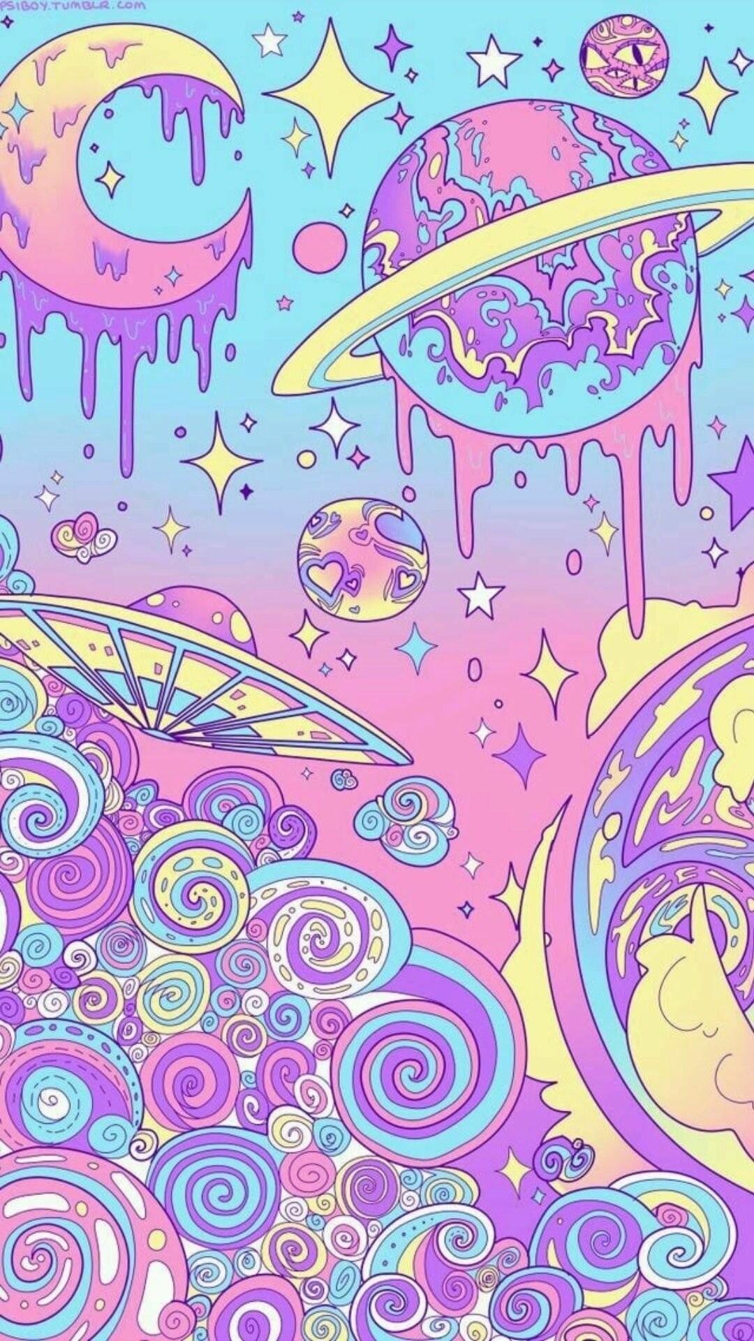 Hippie iPhone wallpaper