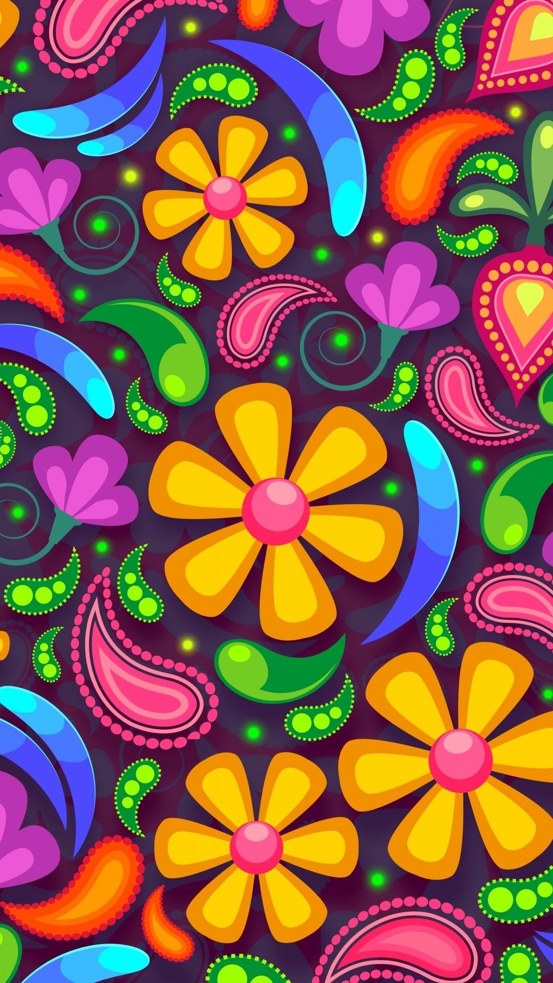 Hippie iPhone 5 wallpaper