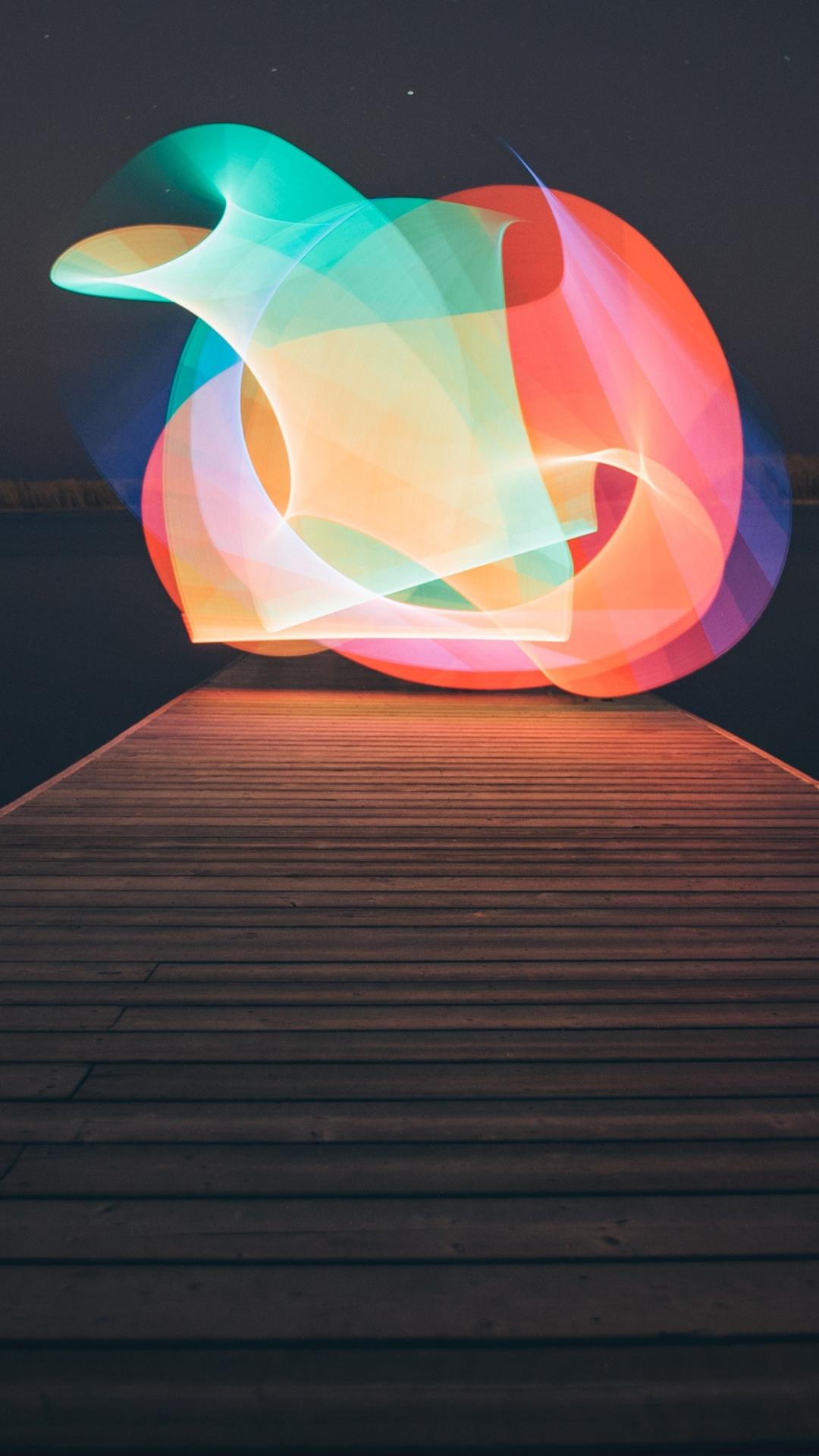 Light iPhone wallpaper