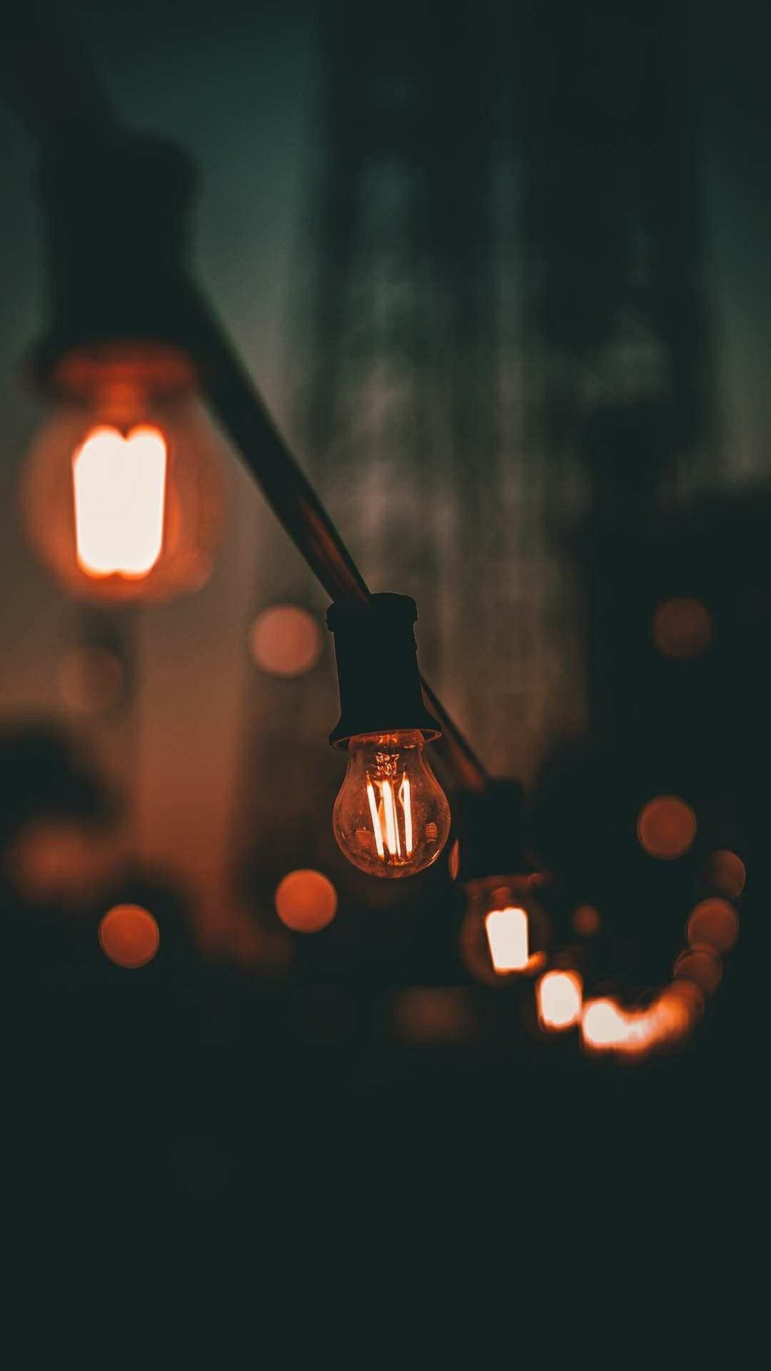 Light wallpaper for iPhone