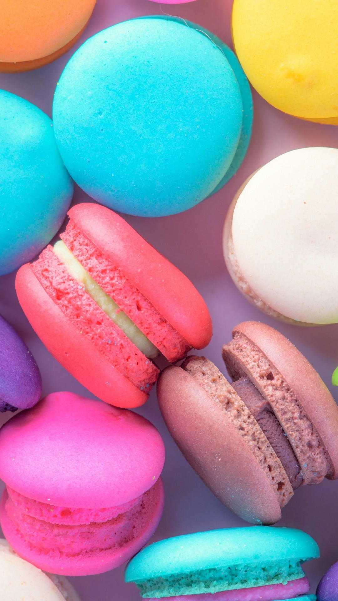 Macaroons wallpaper for iPhone