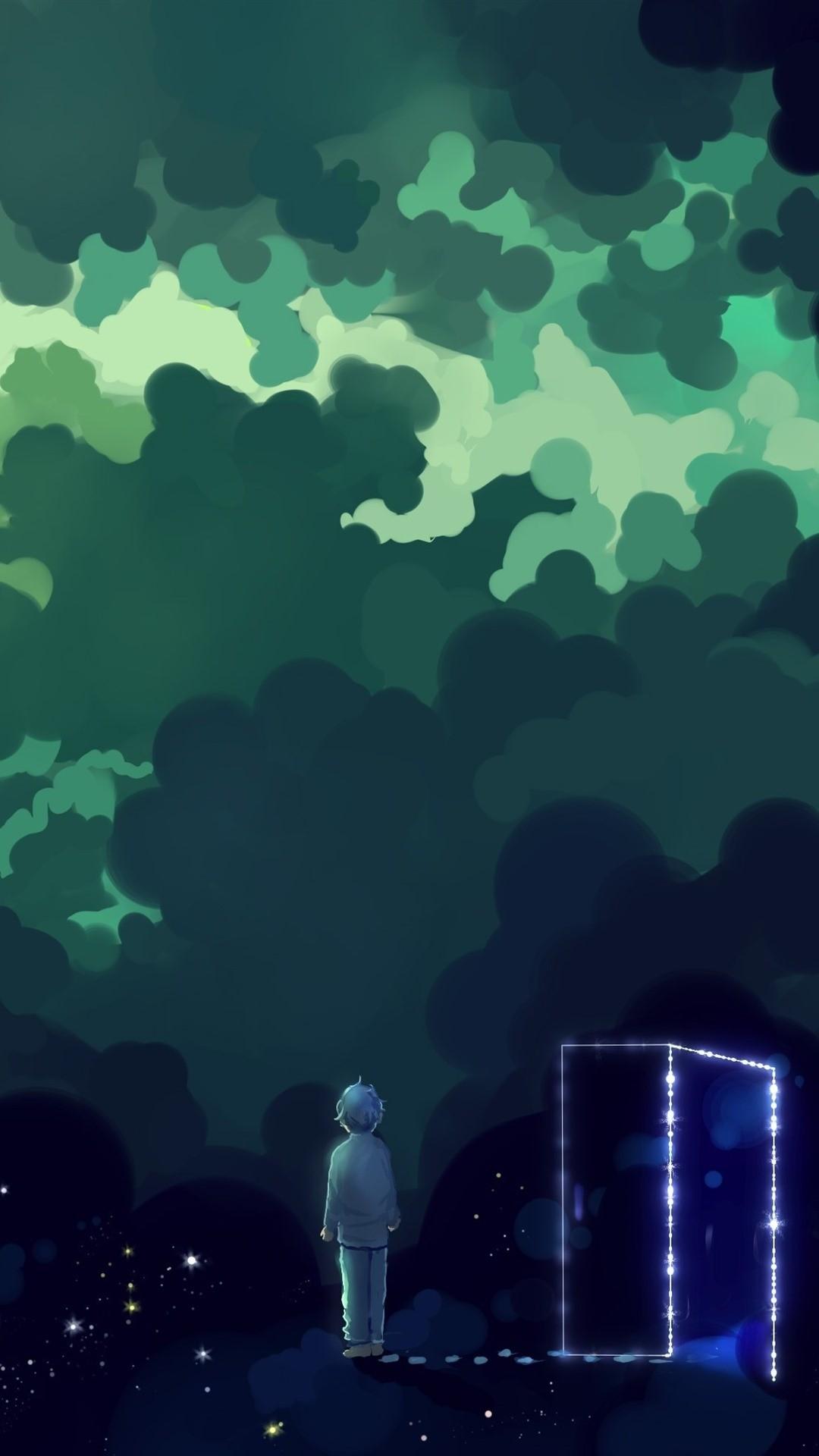 Magic phone background