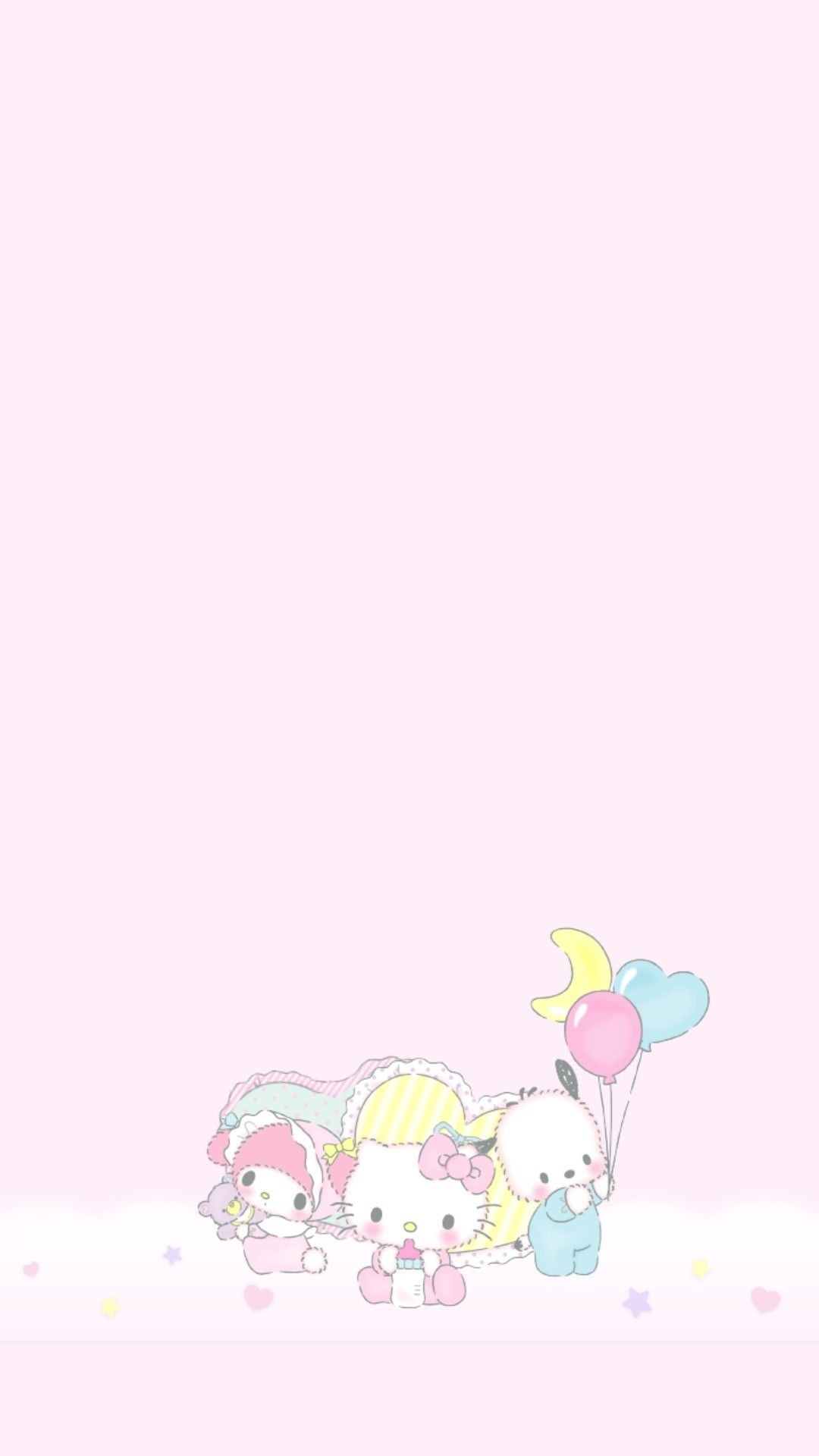 My Melody iPhone wallpaper