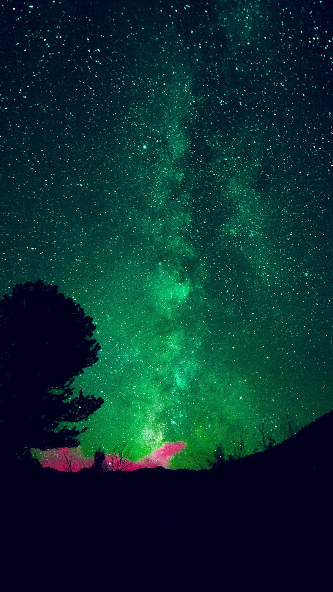 Night Sky iPhone hd wallpaper