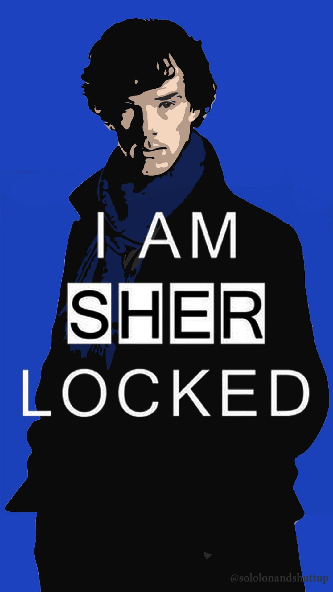 Sherlock iPhone 6 wallpaper