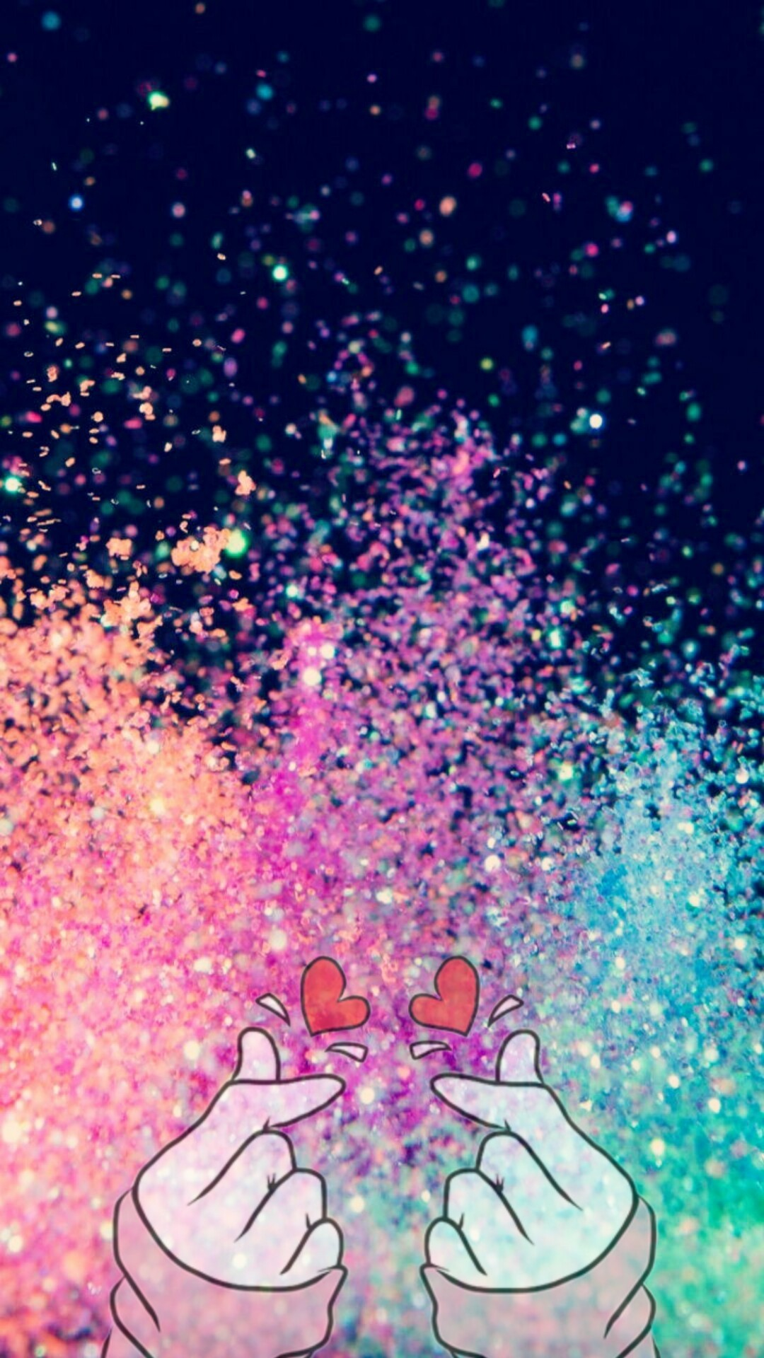 Sparkle iPhone hd wallpaper