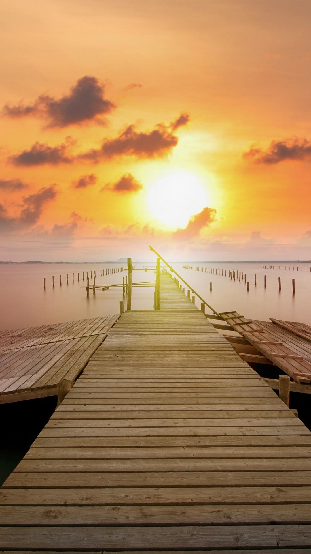 Sunrise wallpaper for iPhone