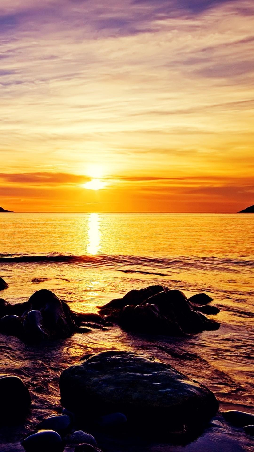 Sunrise iPhone 5 wallpaper