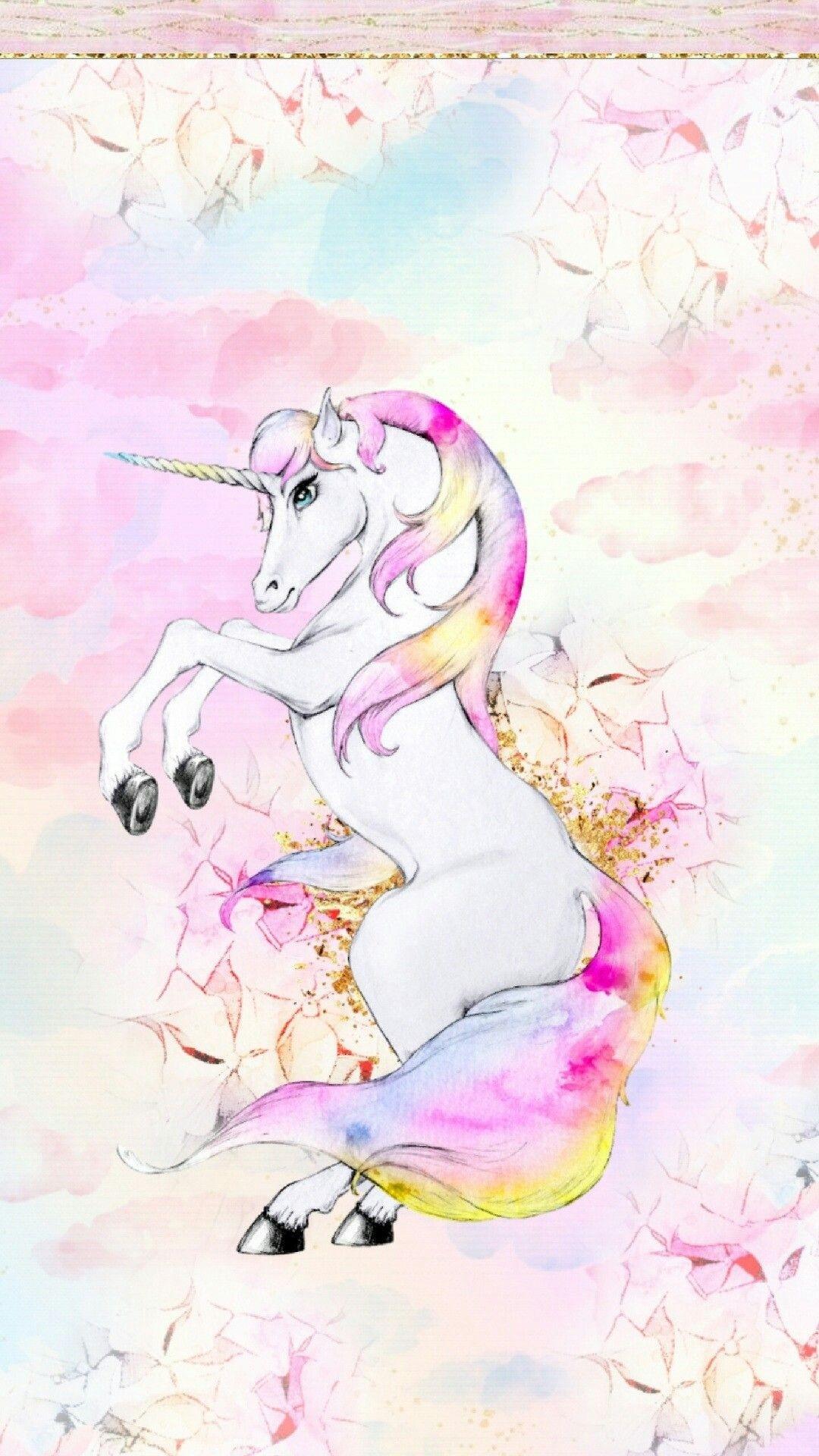 Unicorn phone wallpaper