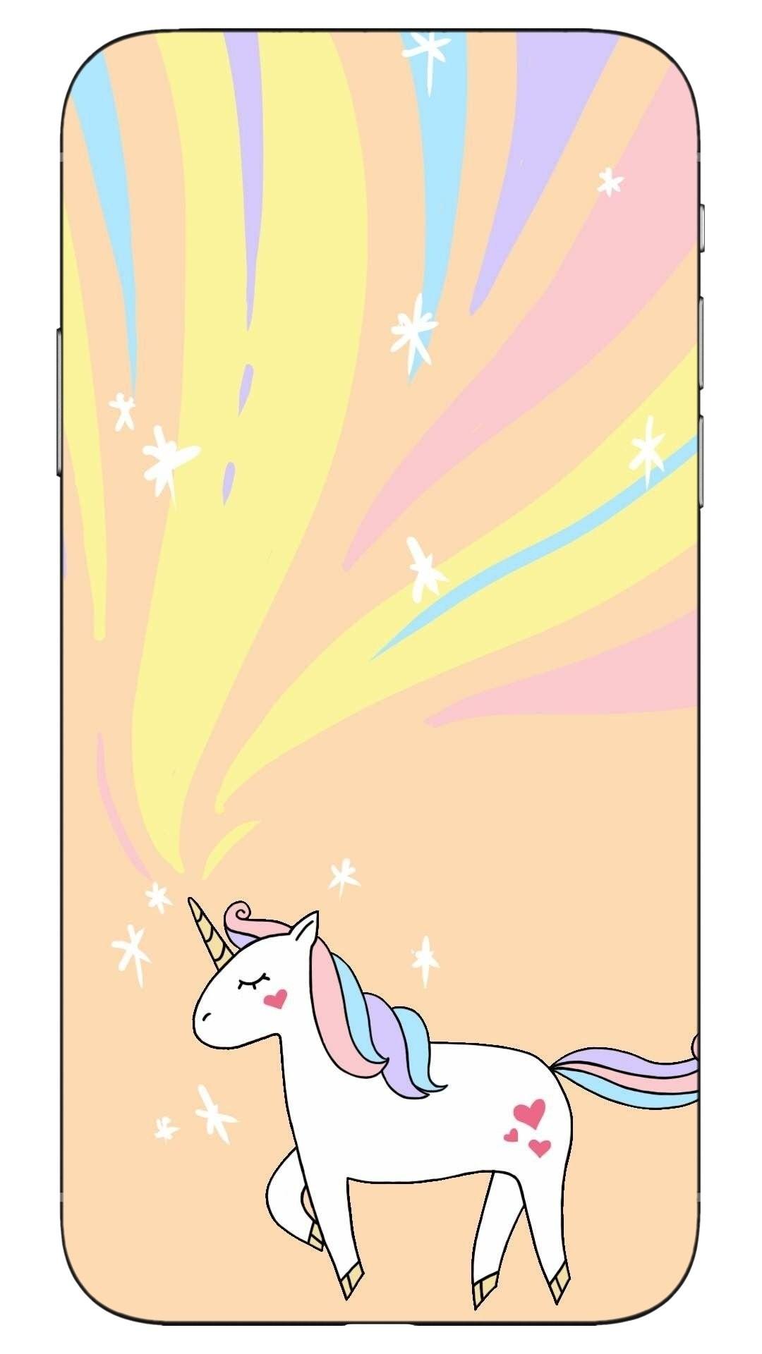 Unicorn iPhone 5 wallpaper