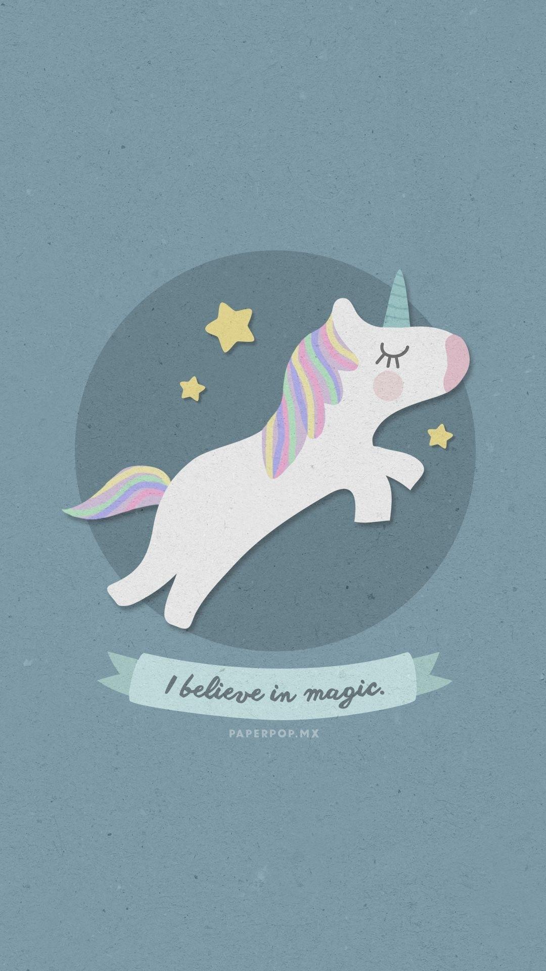 Unicorn wallpaper for iPhone