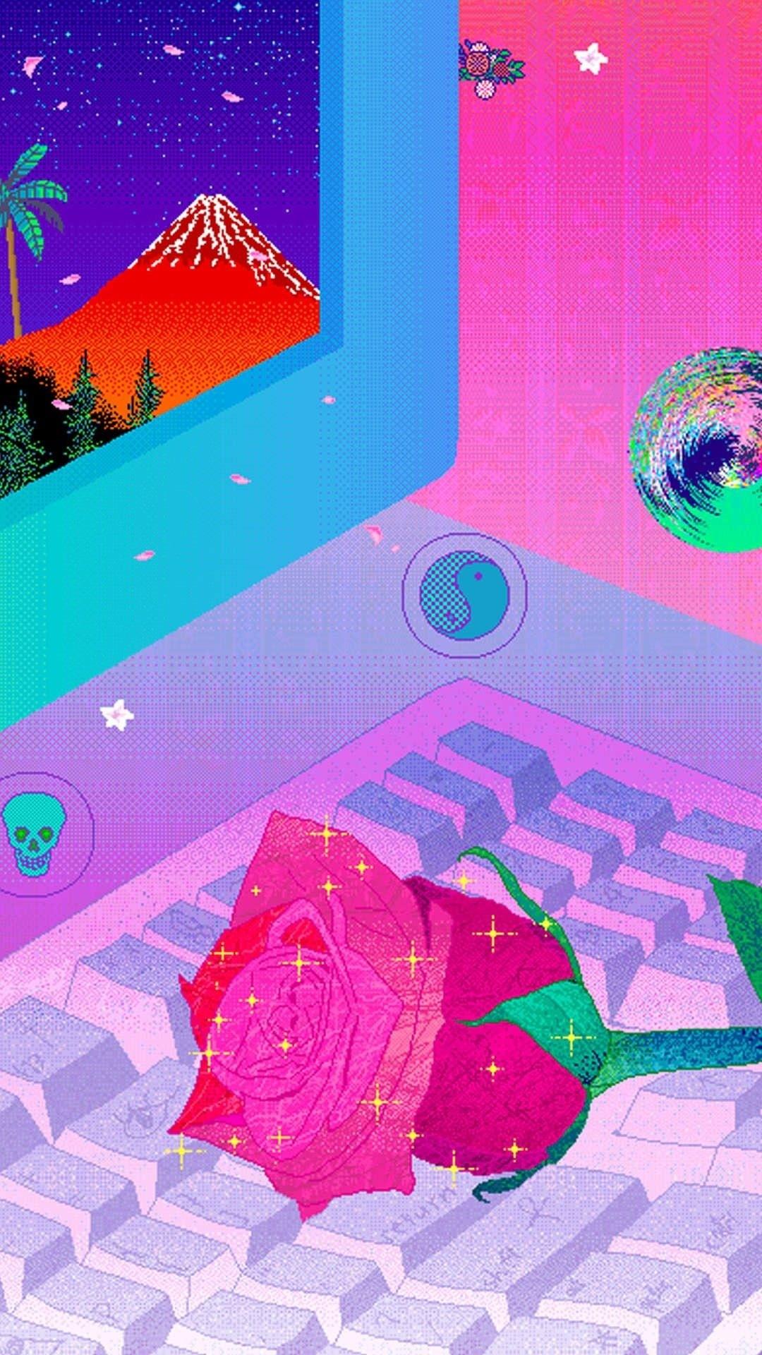 Vaporwave Iphone Wallpapers 19 Images Wallpaperboat