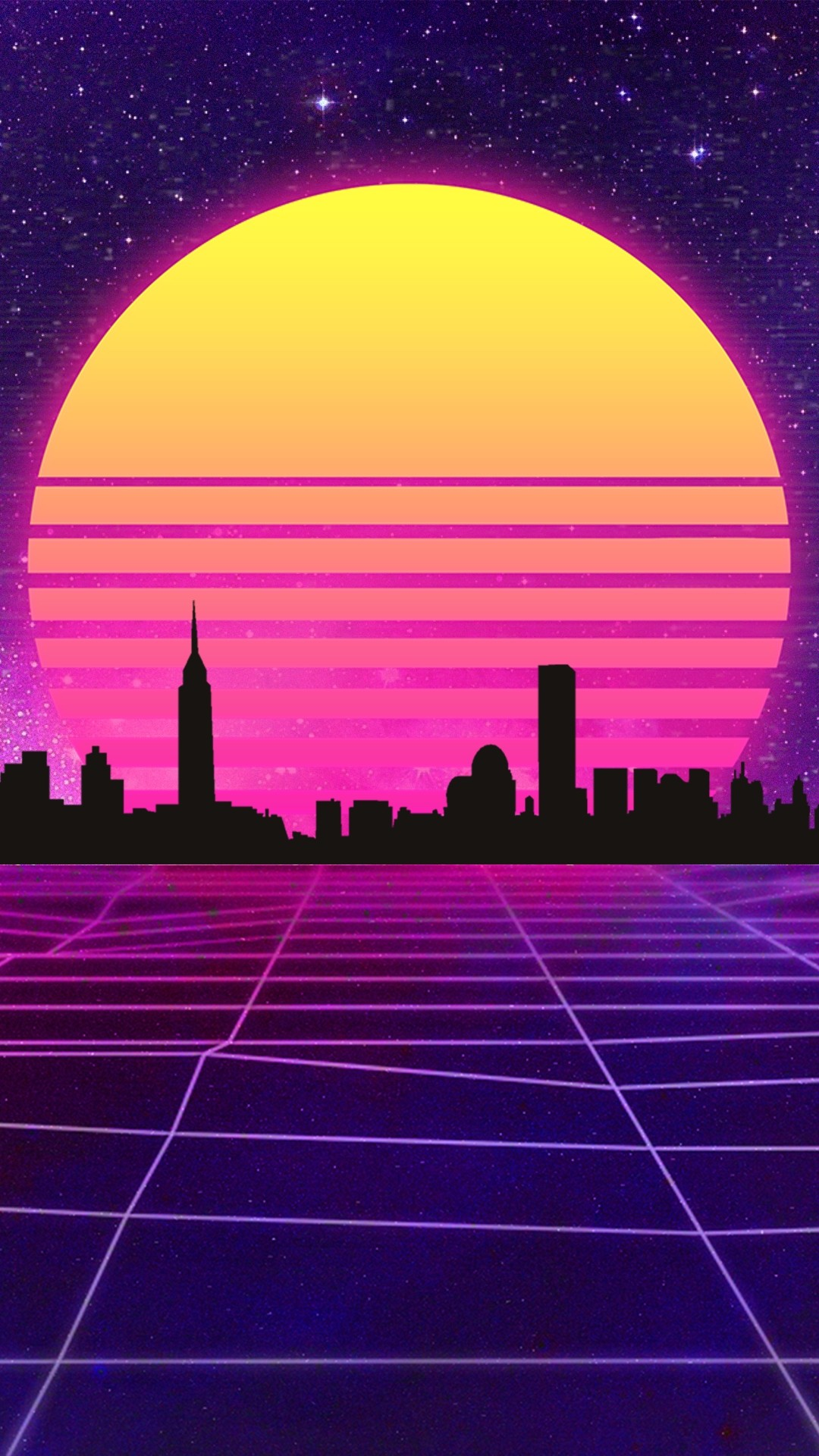 Vaporwave iPhone hd wallpaper