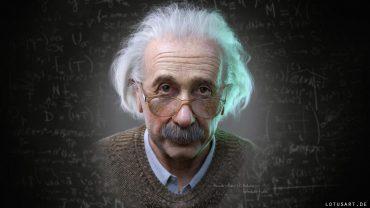 Albert Einstein Background