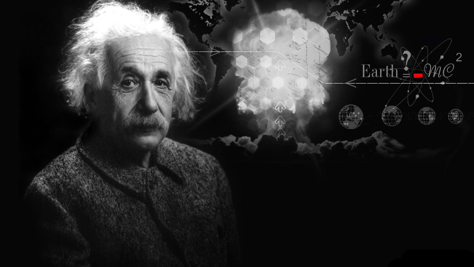Albert Einstein beautiful wallpaper