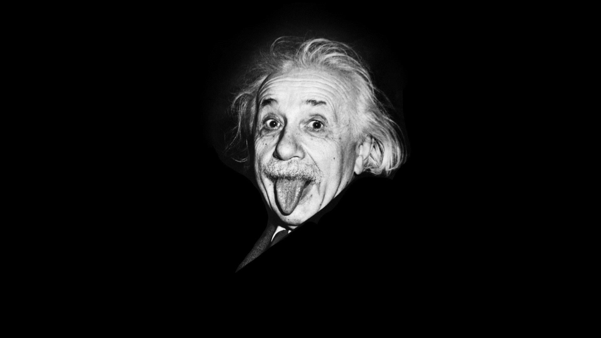 Albert Einstein laptop wallpaper