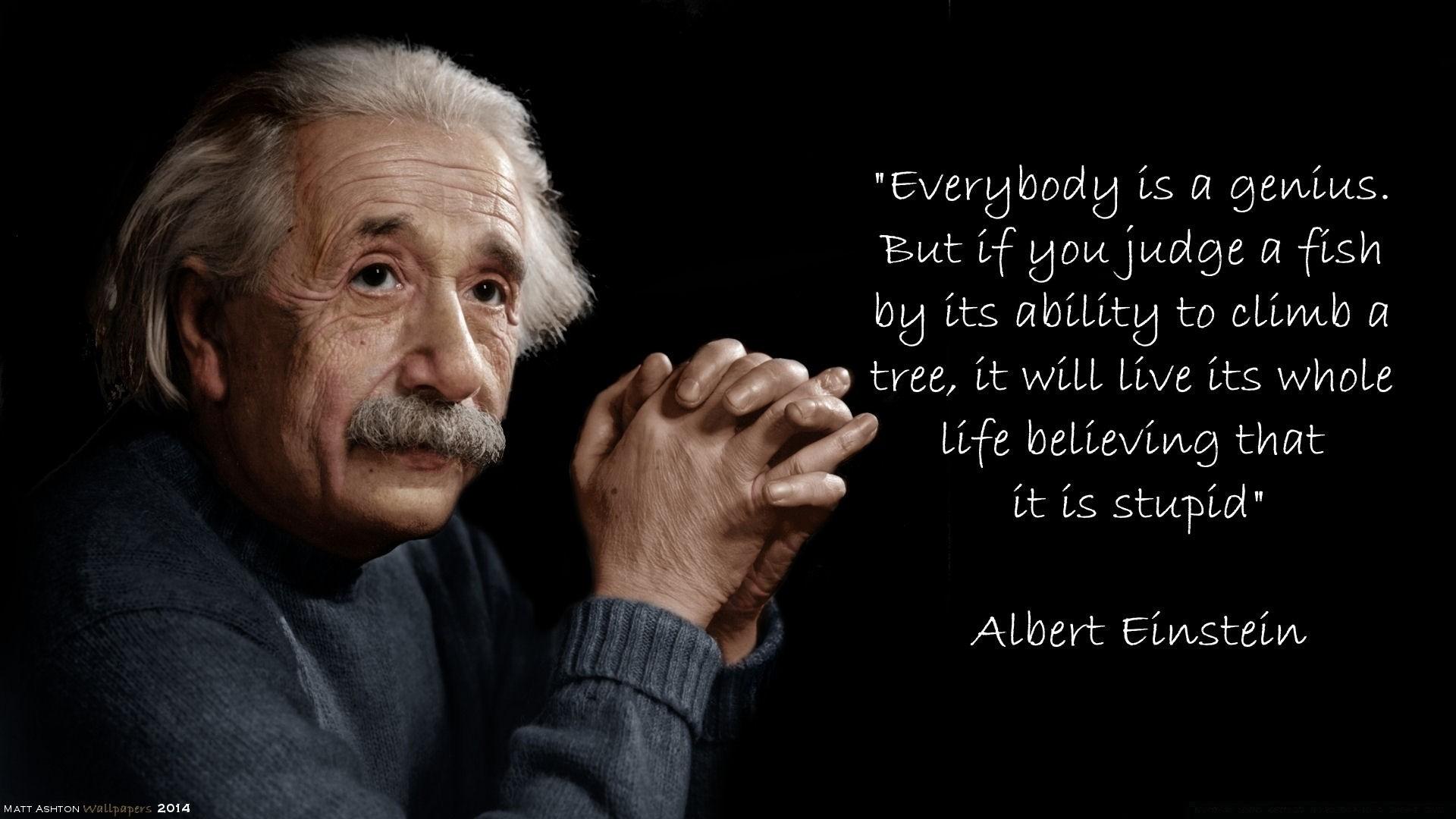 Albert Einstein download wallpaper image