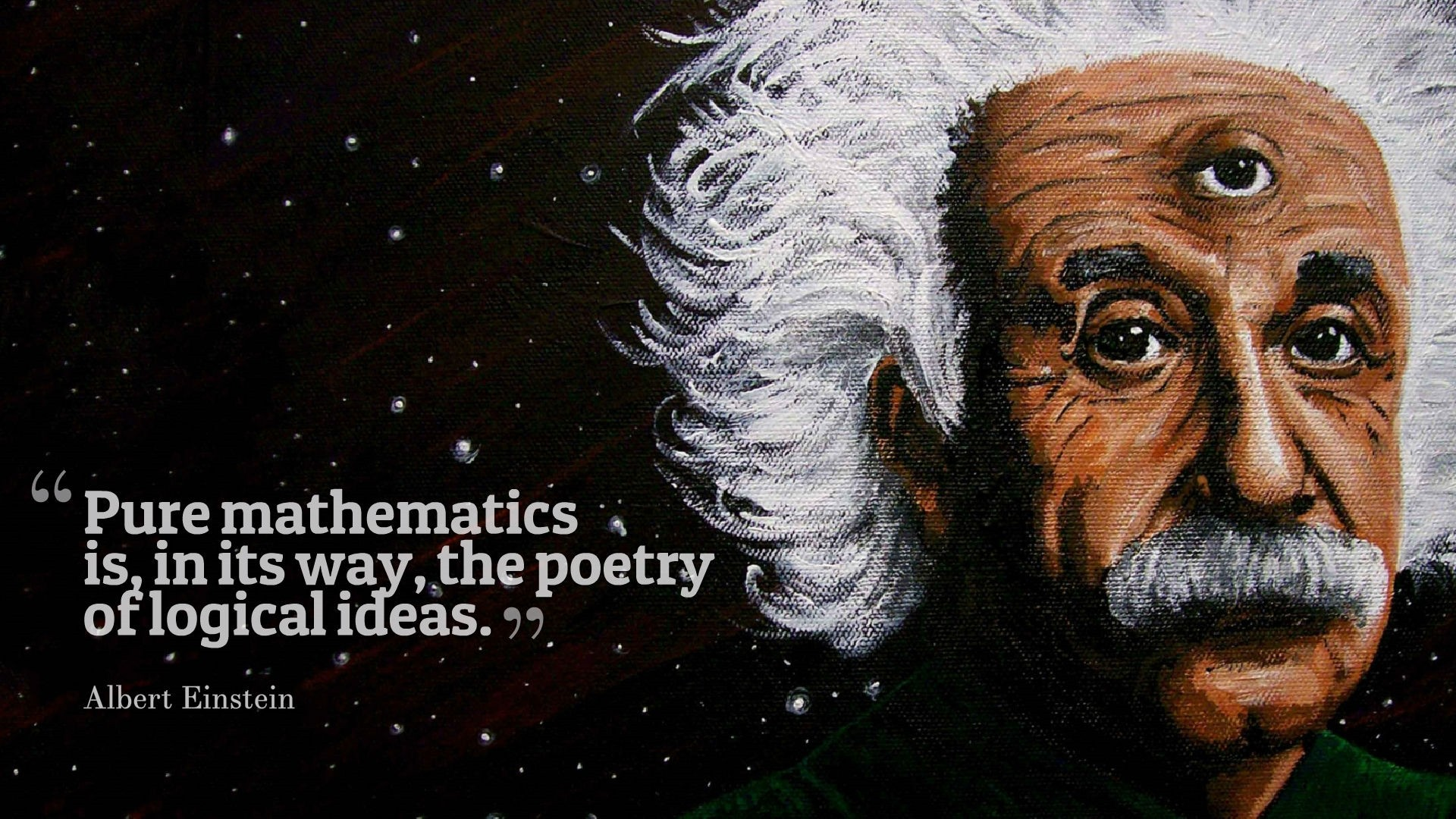 Albert Einstein a Wallpaper