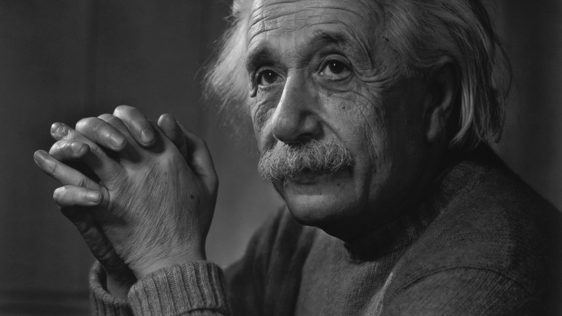 Albert Einstein full hd 1080p wallpaper
