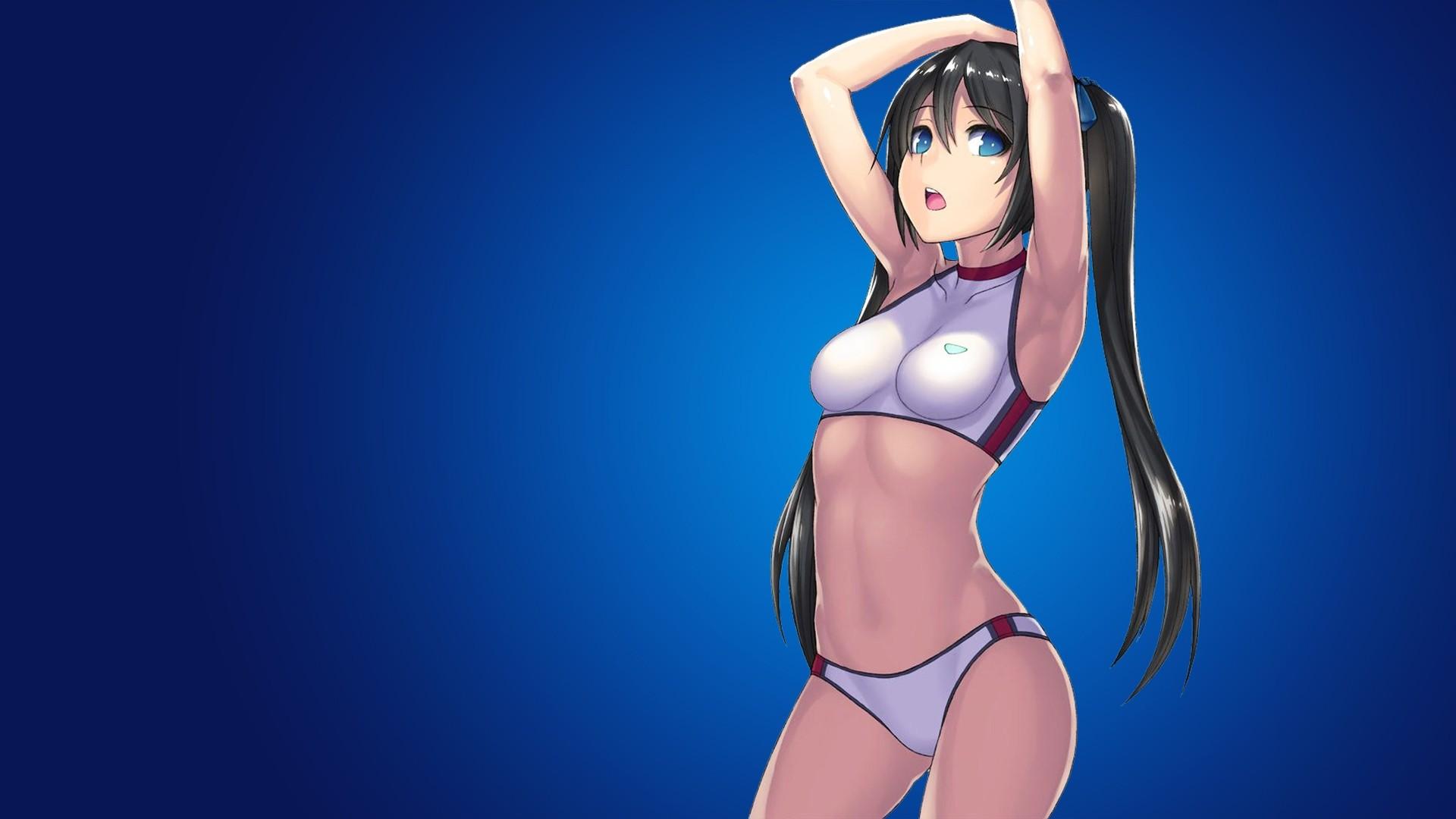 Anime Ecchi full screen hd wallpaper