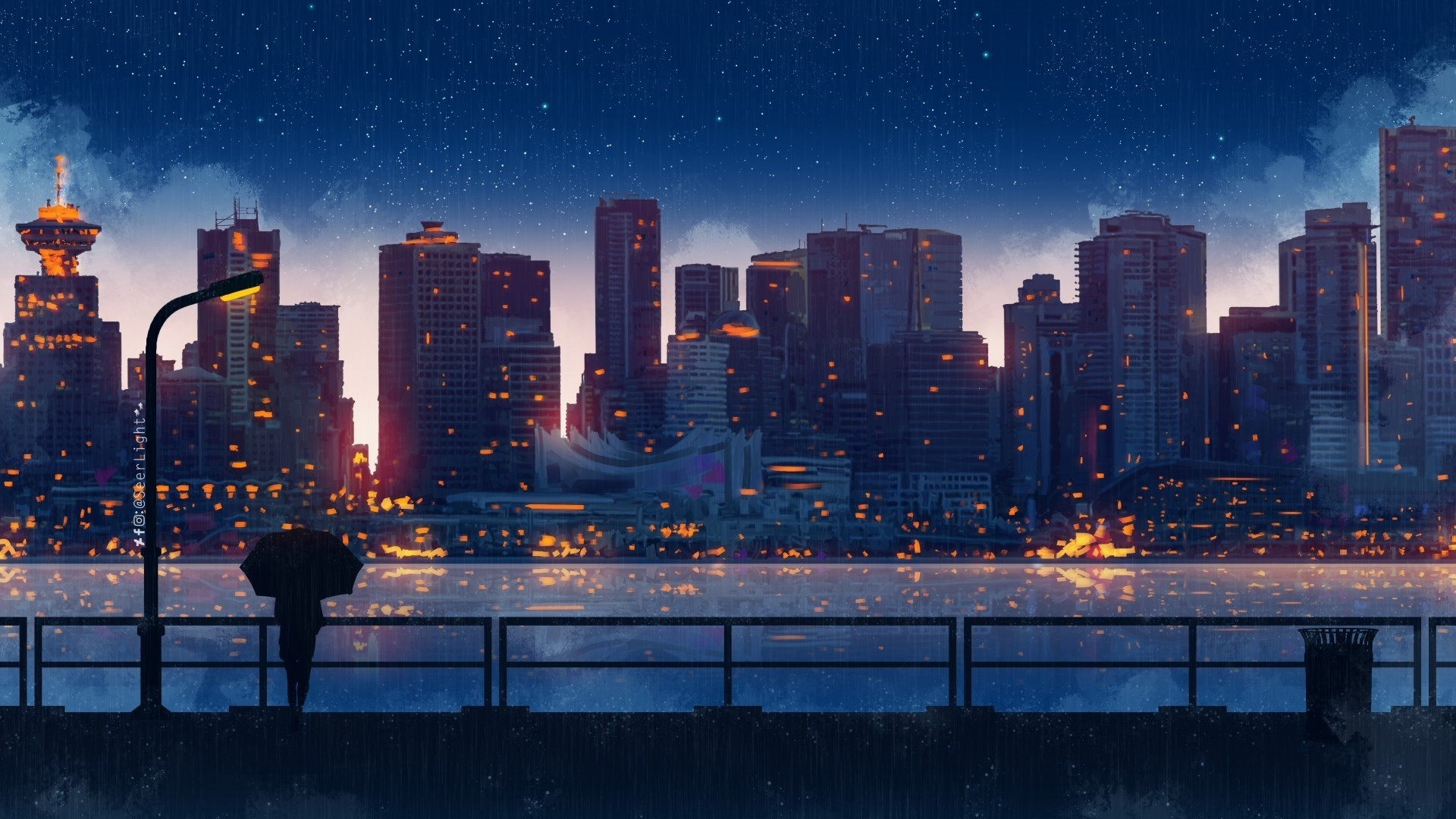 Anime Rain Wallpapers 21 Images Wallpaperboat