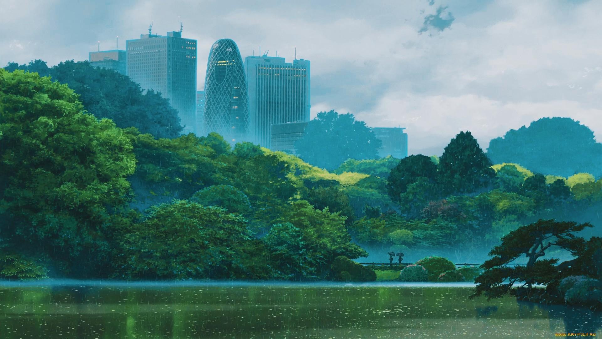 Anime Rain HD Download