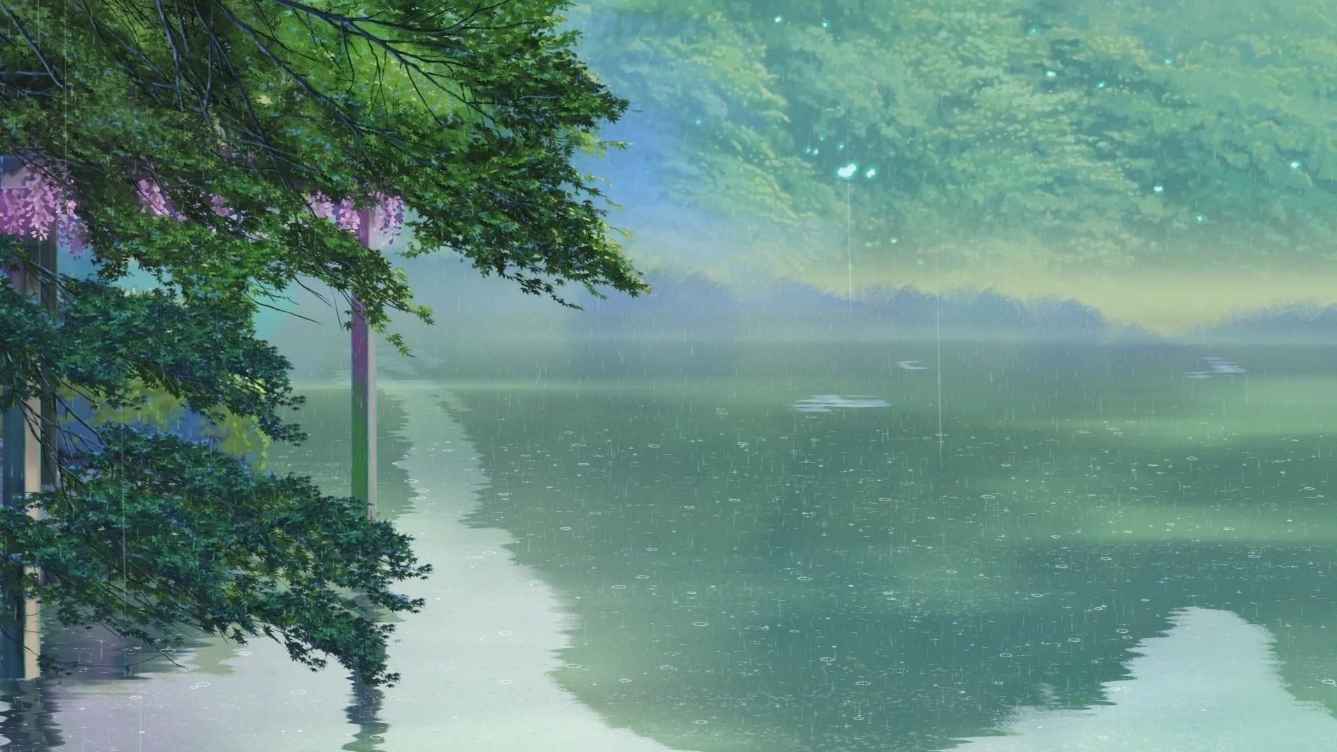 Anime Rain Wallpaper