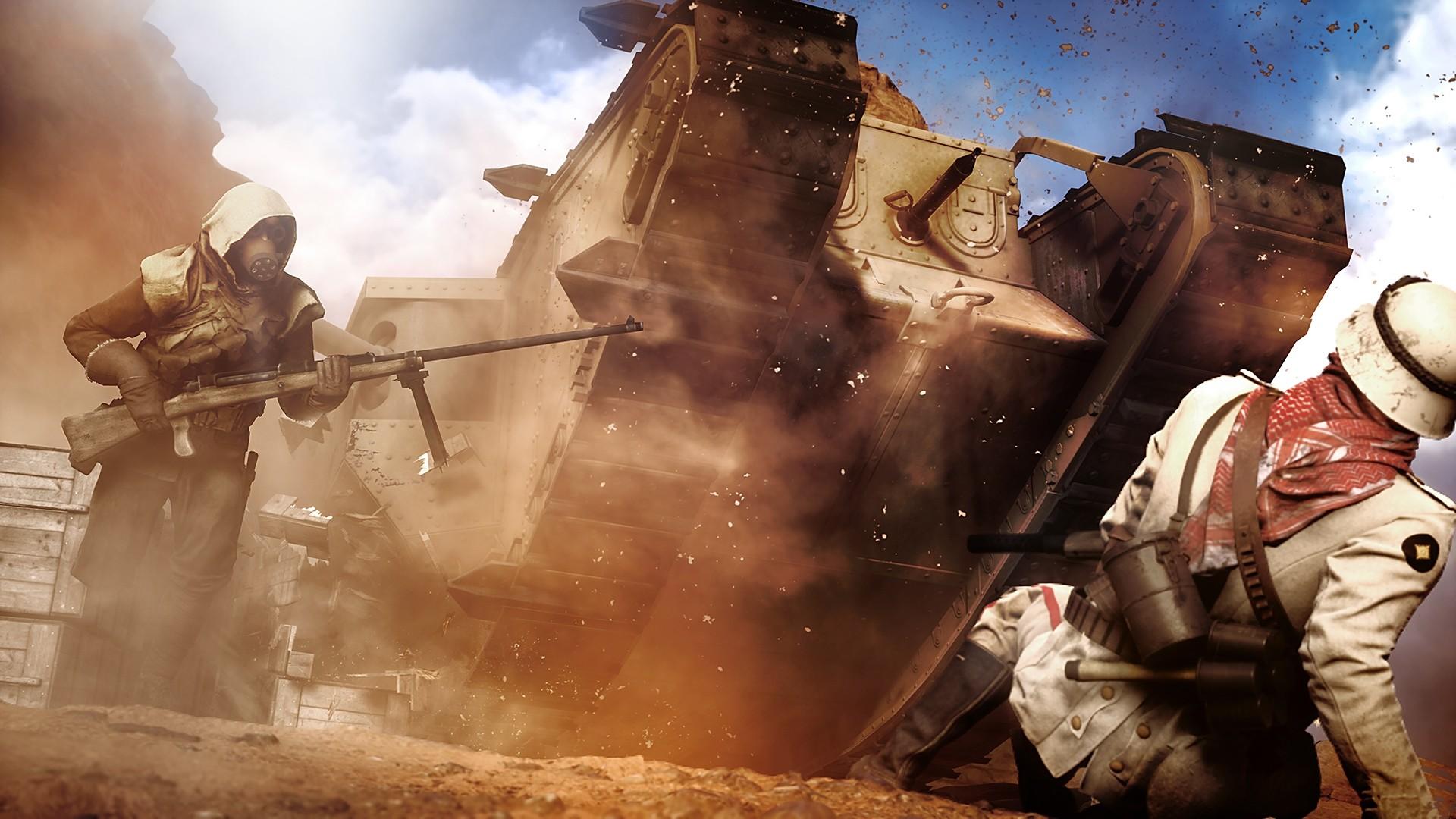 Battlefield 1 hd wallpaper for pc