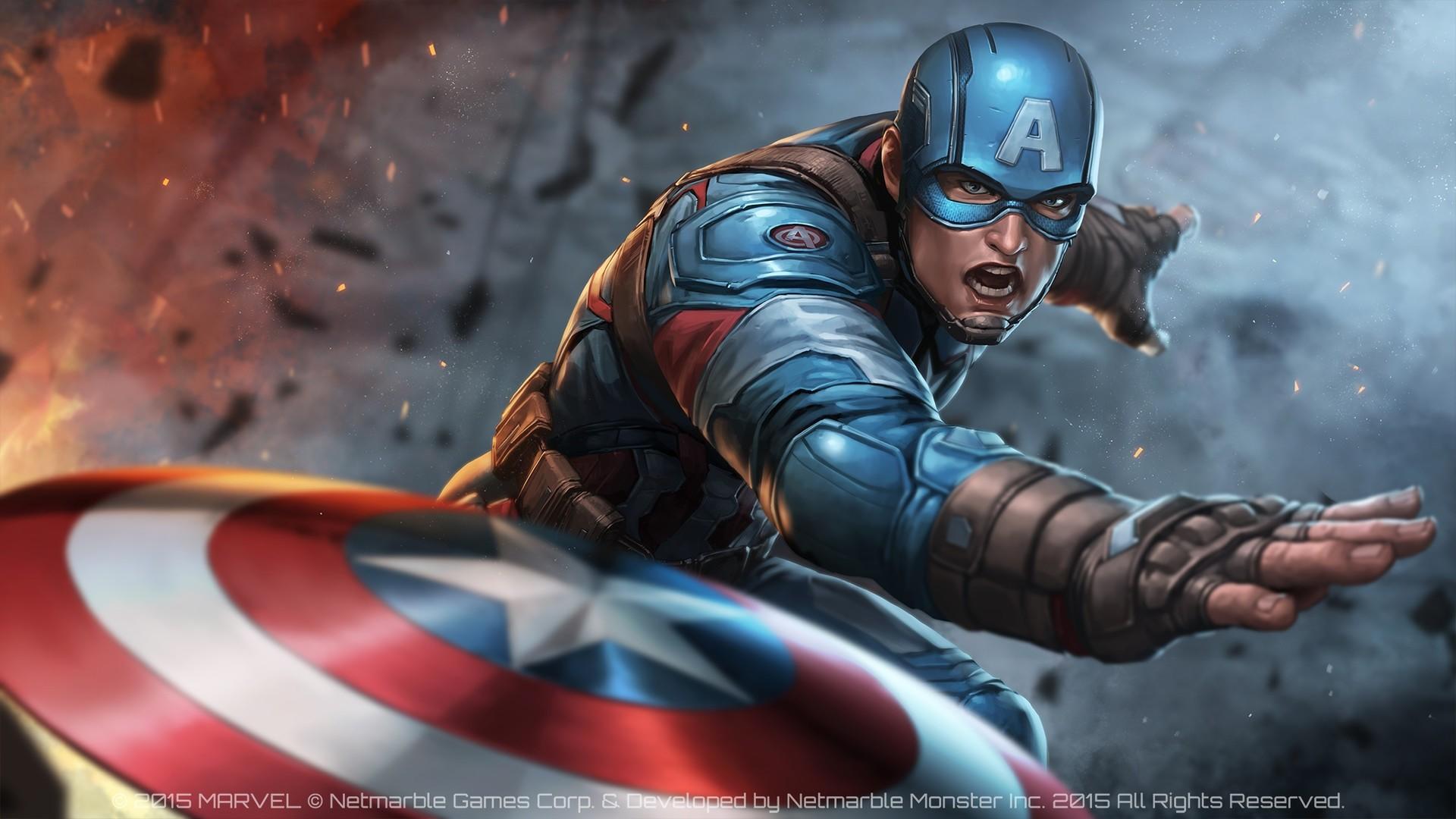 Captain America computer Wallpaper