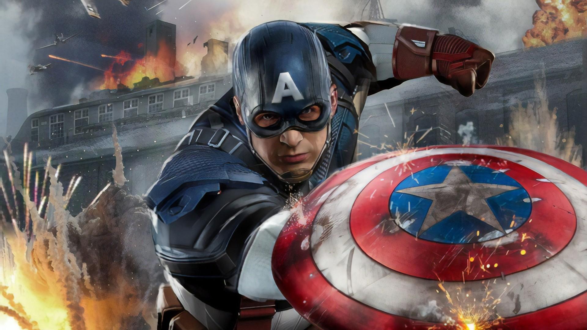Captain America download wallpaper image