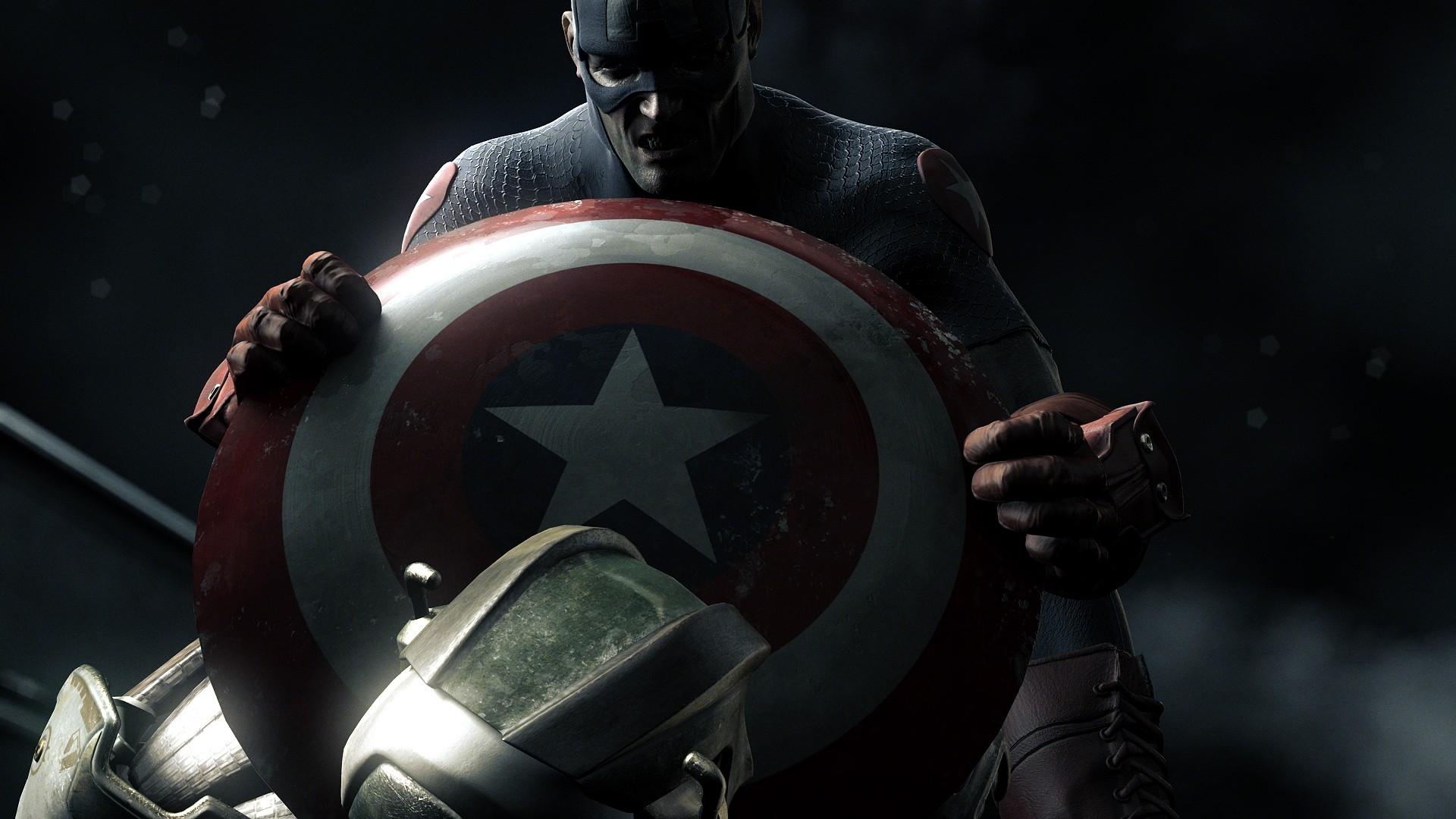 Captain America full wallpaper