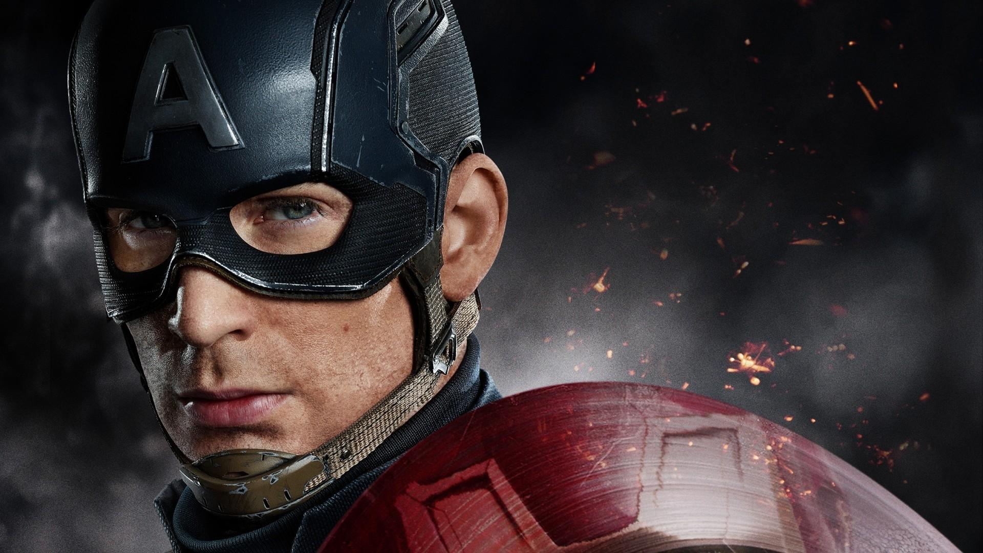 Captain America Free Desktop Wallpaper