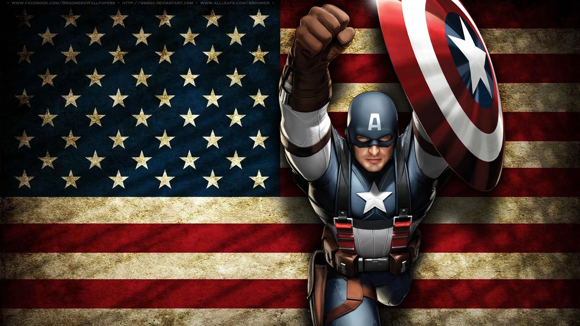 Captain America screen wallpaper