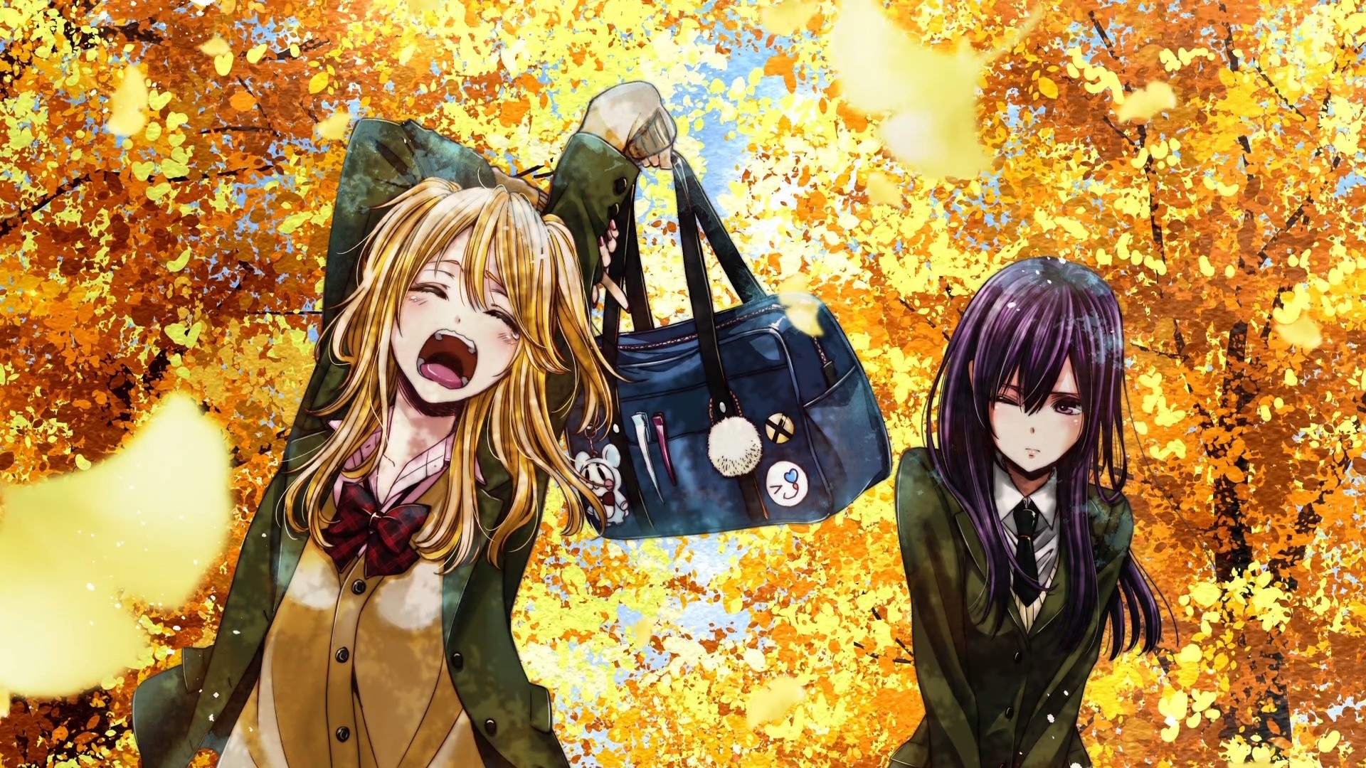 Citrus Anime HD Desktop Wallpaper