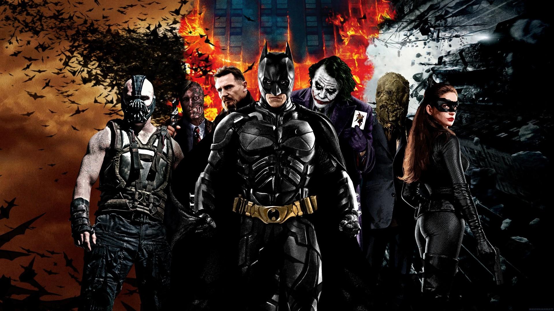 Dark Knight HD wallpaper