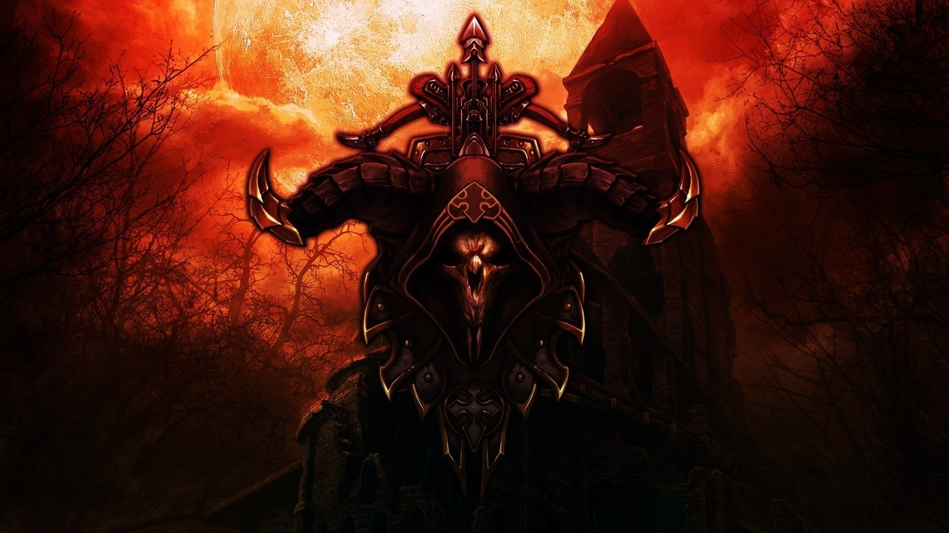 Demon Hunter screen wallpaper