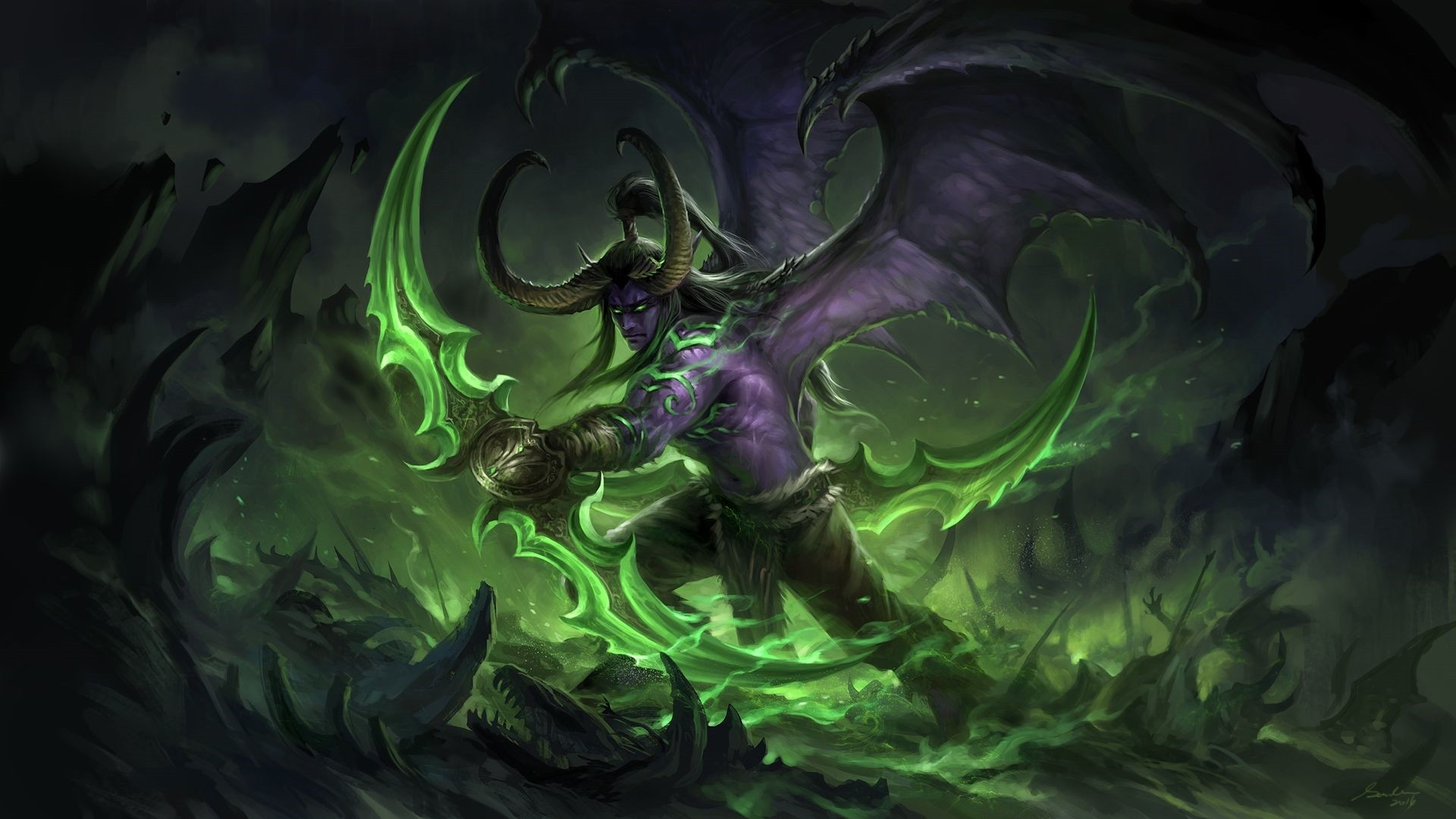 Demon Hunter Download Free Wallpaper Image Search