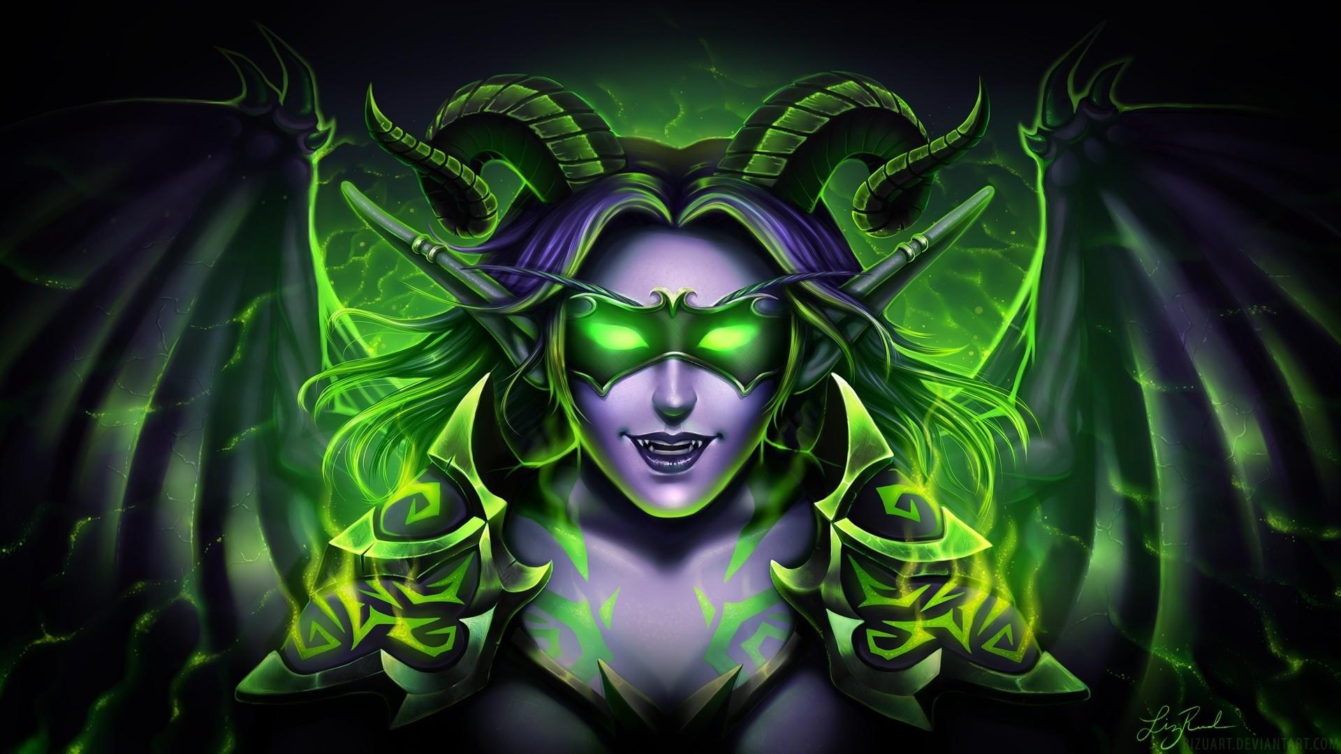 Demon Hunter HD wallpaper