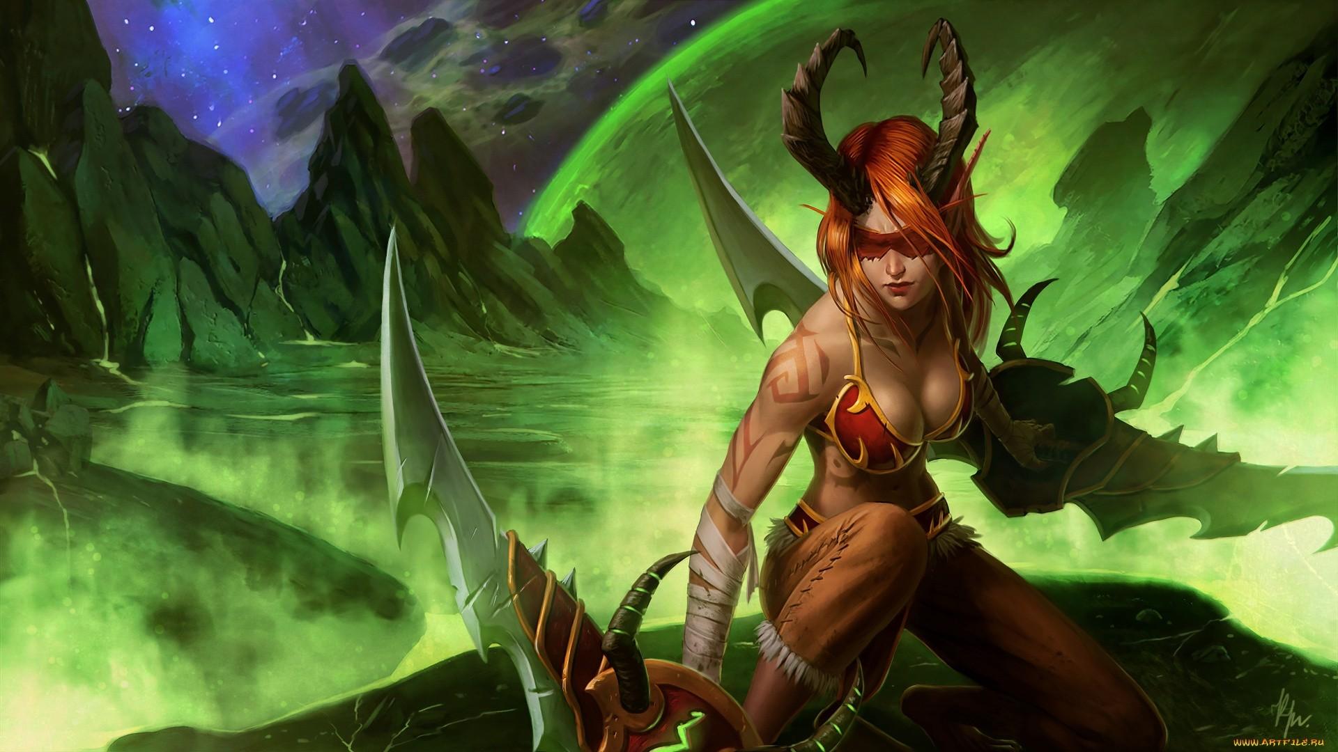 Demon Hunter HD Wallpaper Download