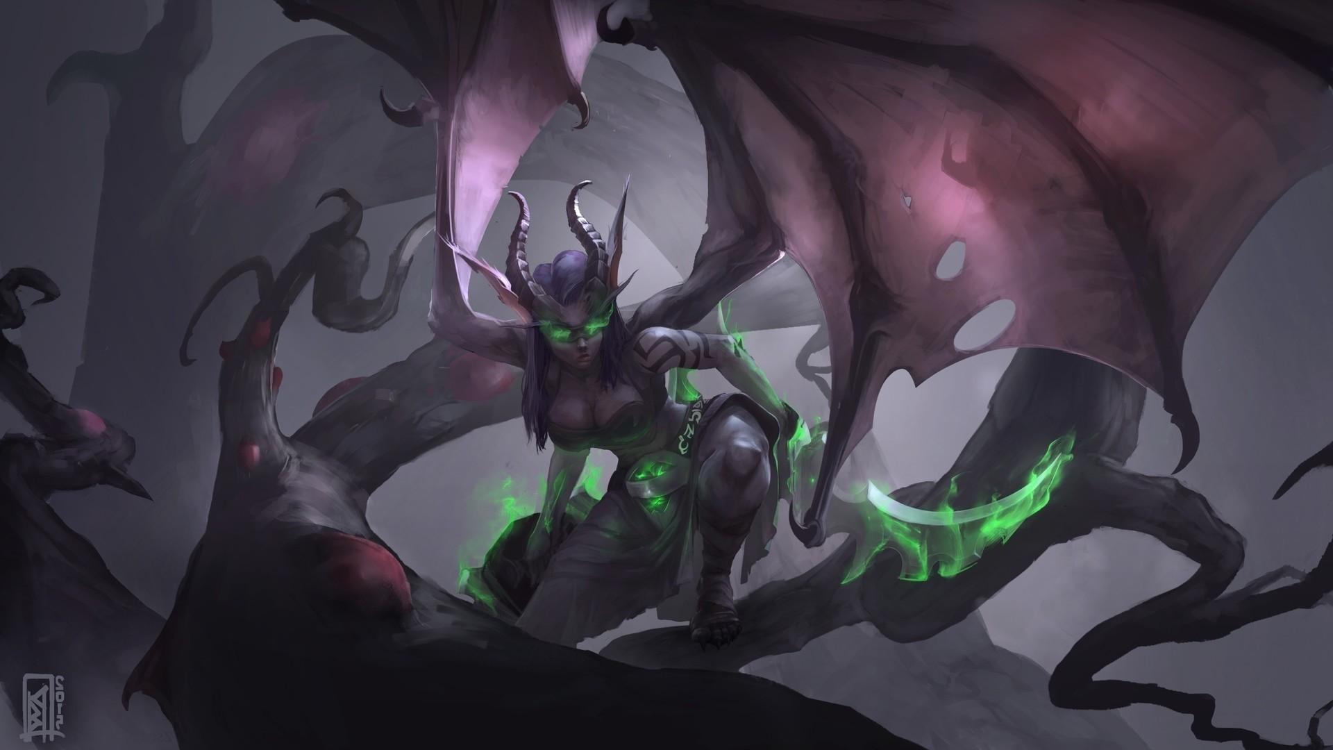 Demon Hunter hd wallpaper for pc