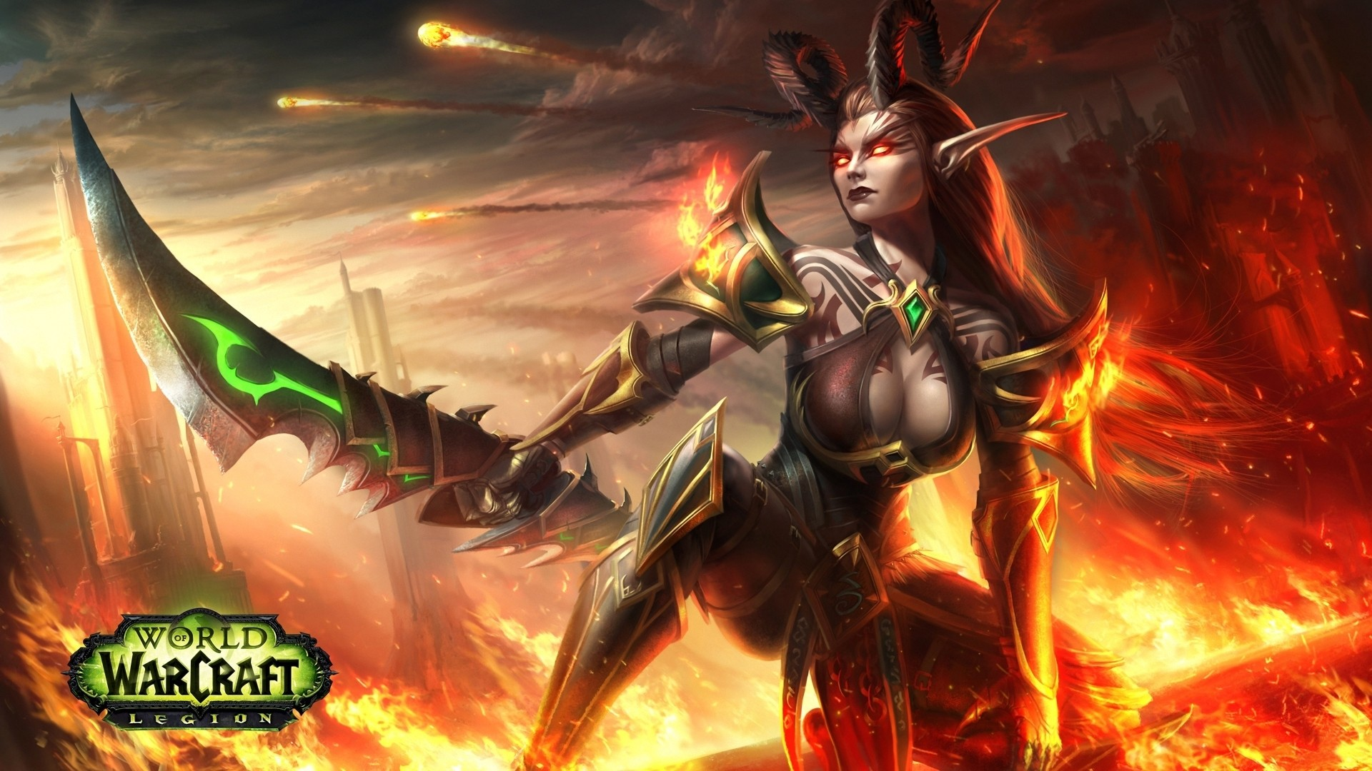 Demon Hunter Wallpaper and Background