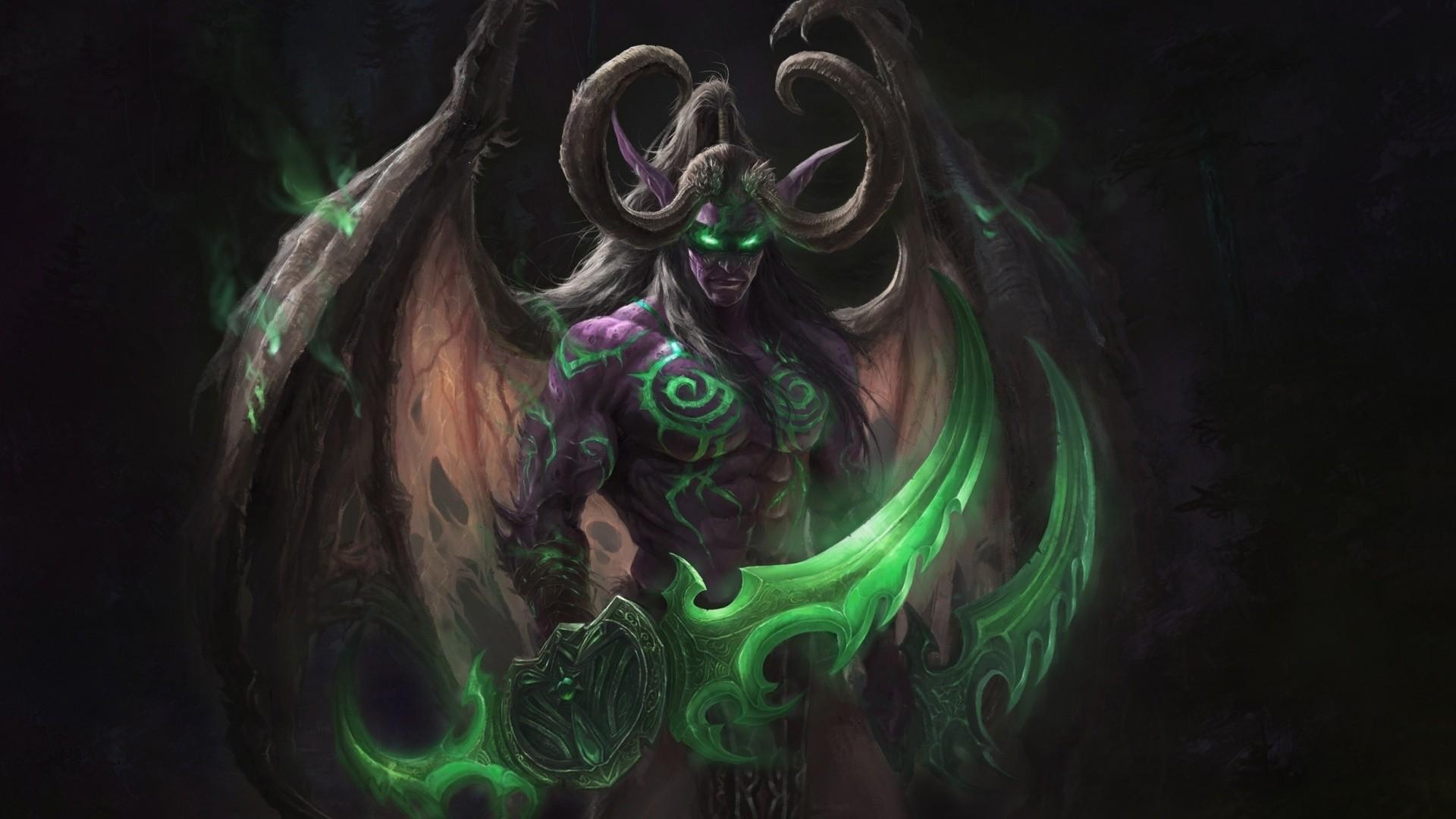 Demon Hunter HD Desktop Wallpaper