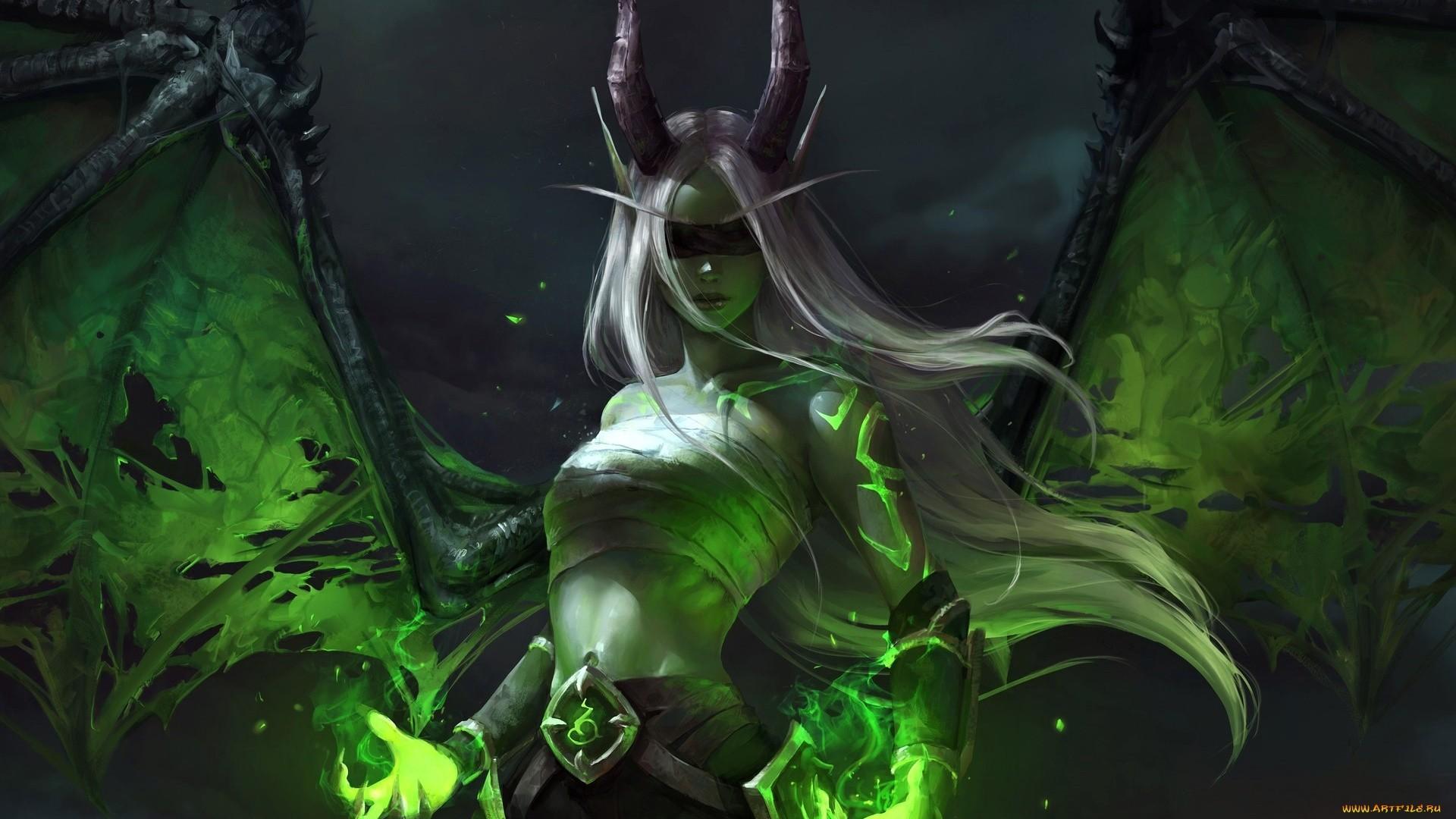 Demon Hunter wallpaper photo